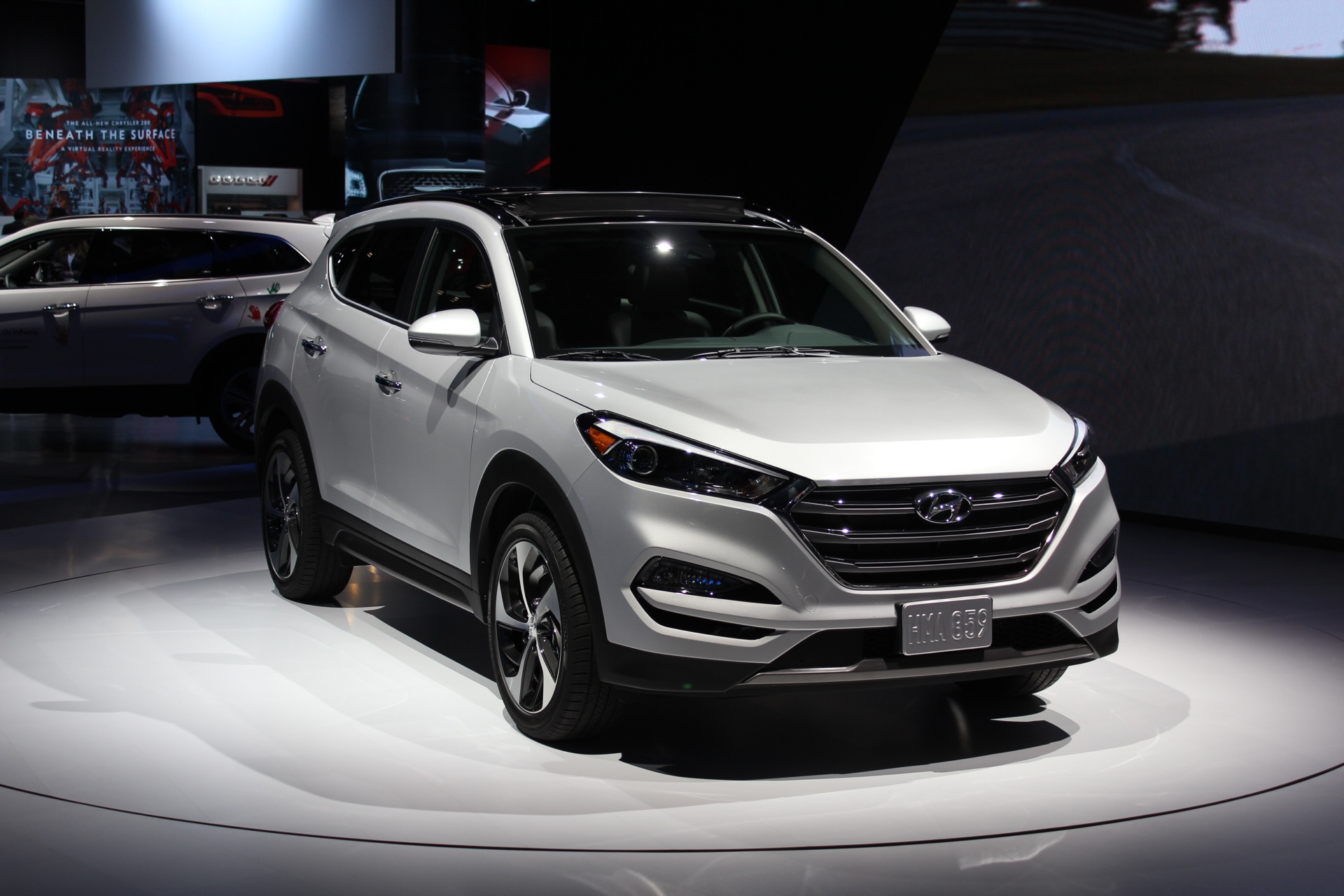 Hyundai Tucson Debuts At The New York Auto Show - Hyundai car show