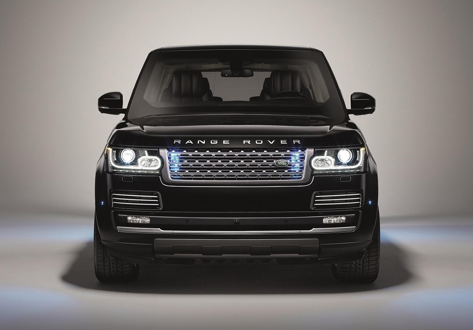 Jaguar Land Rover SVO Division Cooks Up Range Rover Sentinel Armored SUV: Video