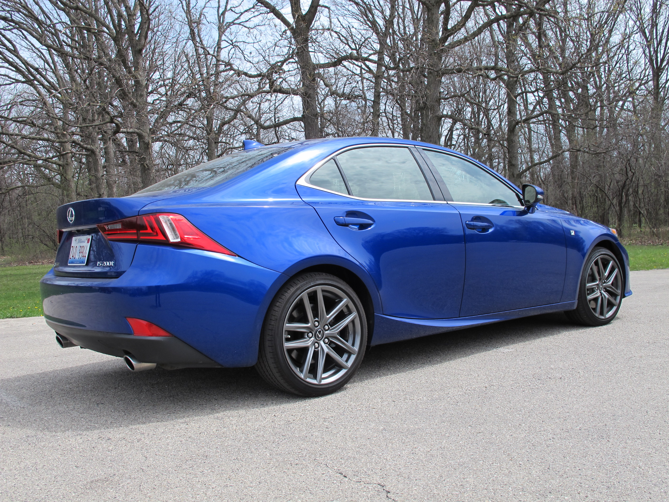 2016 Lexus Is 200t F Sport First Drive Review
