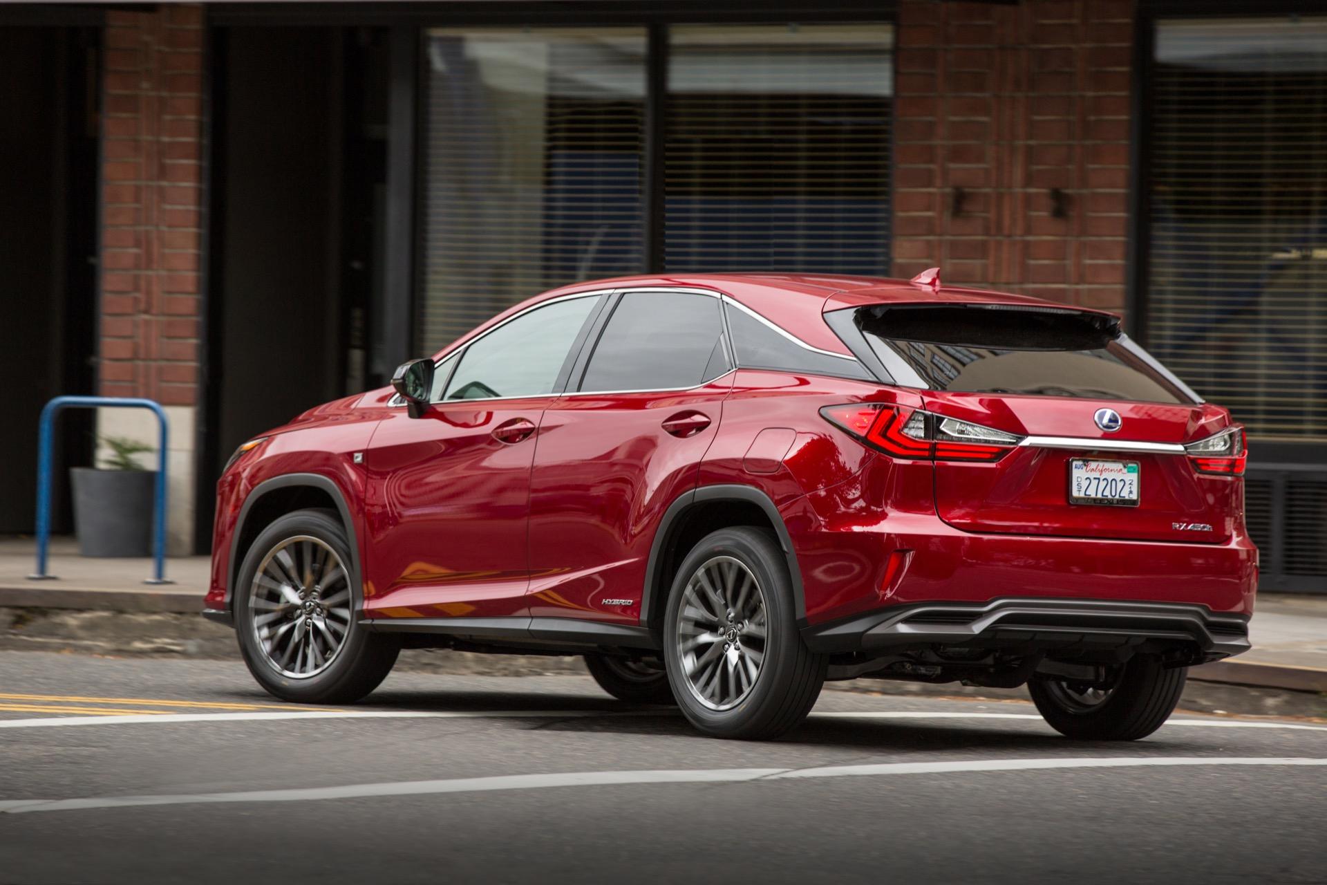 Lexus RX hybrid Preston Tucker s car Volvo electrics What s New