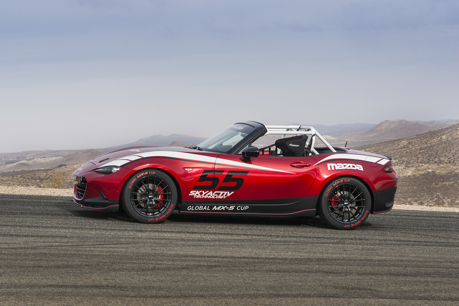 Mazda Announces New Global MX-5 Cup Race Series At SEMA