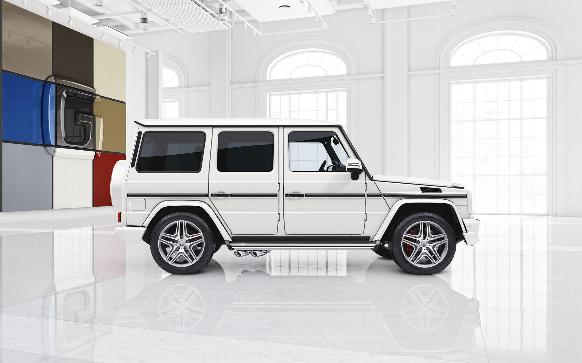 Mercedes G Wagon White 2017