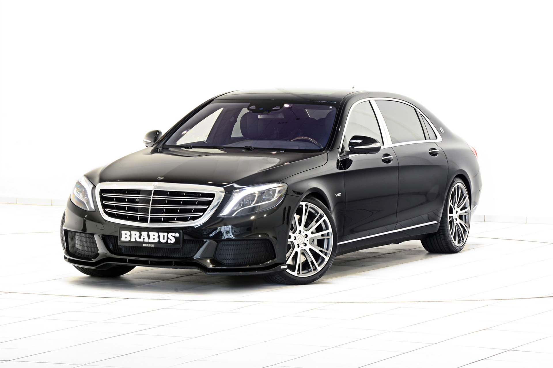 The Mercedes-Maybach S600 By Brabus Will Hit 60 MPH In ...
