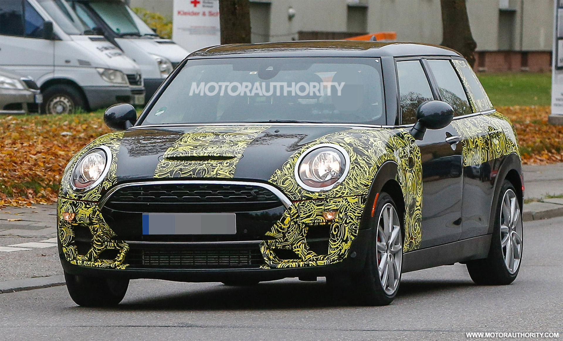 2016 Mini John Cooper Works Clubman Spy Shots