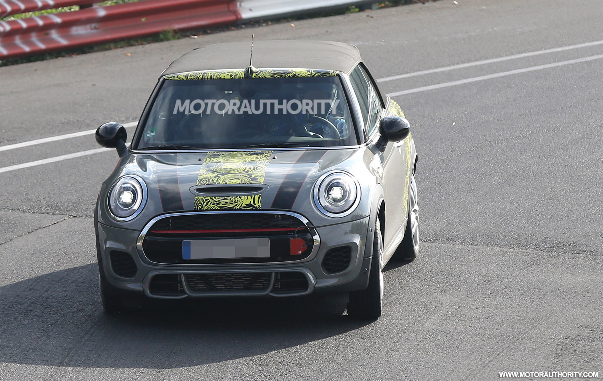 2016 MINI John Cooper Works Convertible Spy Shots