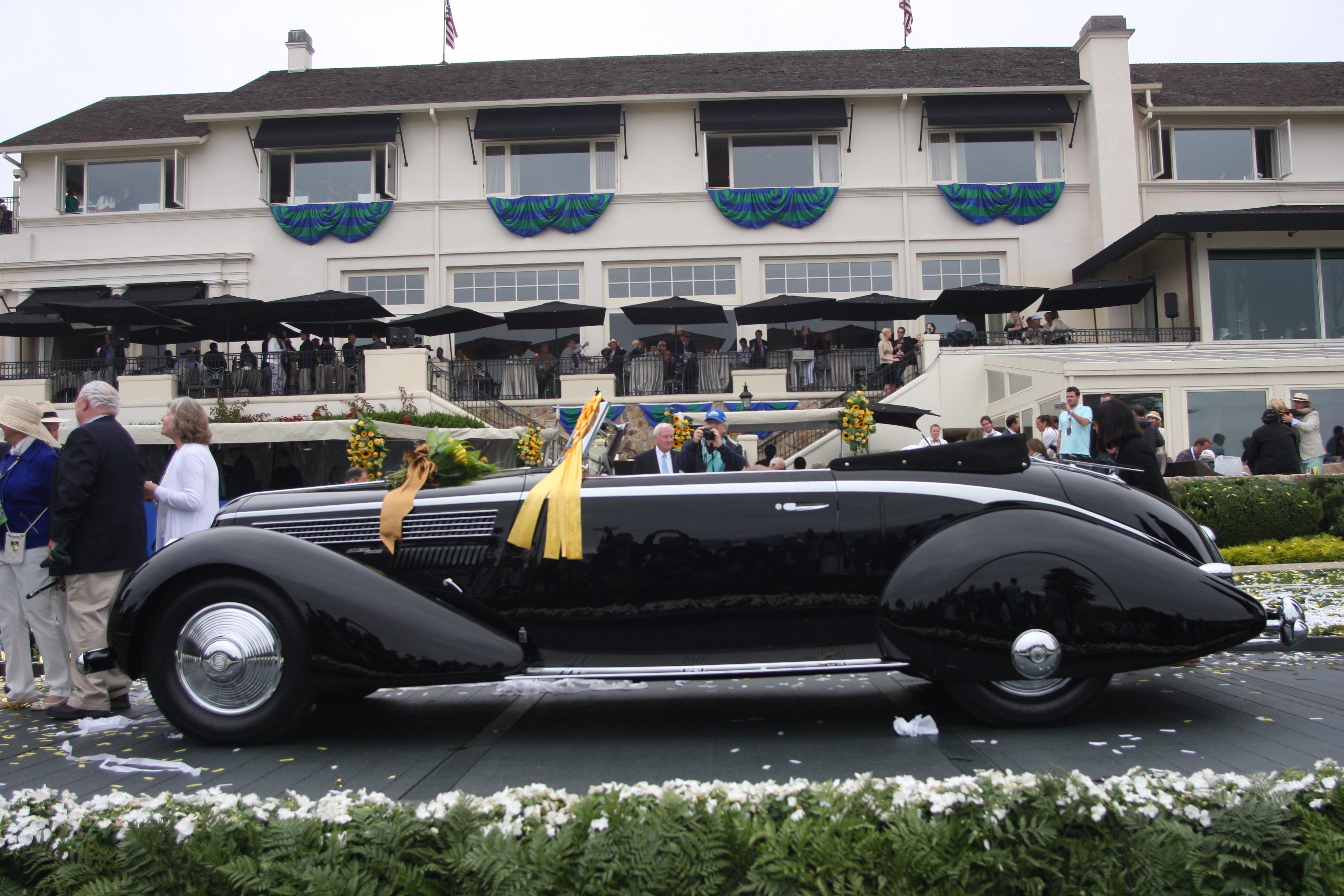 2020 Pebble Beach Best Of Show Pebble Beach Concours d'Elegance winning 1936 Lancia Astura sold
