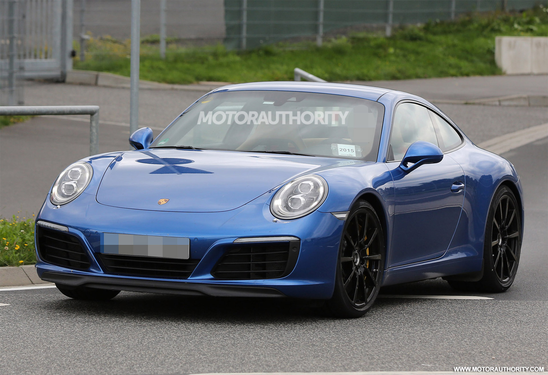 2016 Porsche 911 Carrera Spy Shots And Video