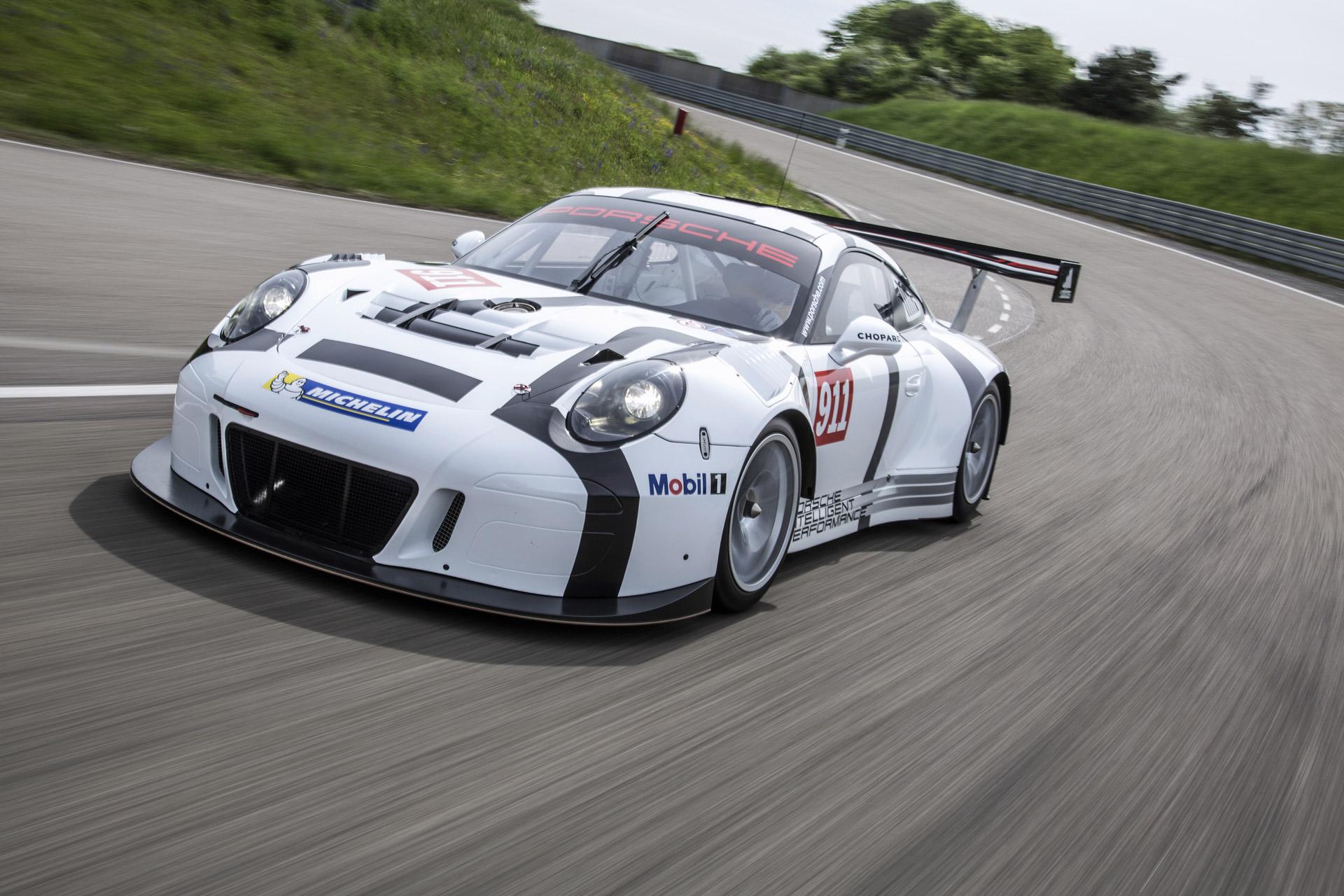 Porsche R Race Car Revealed
