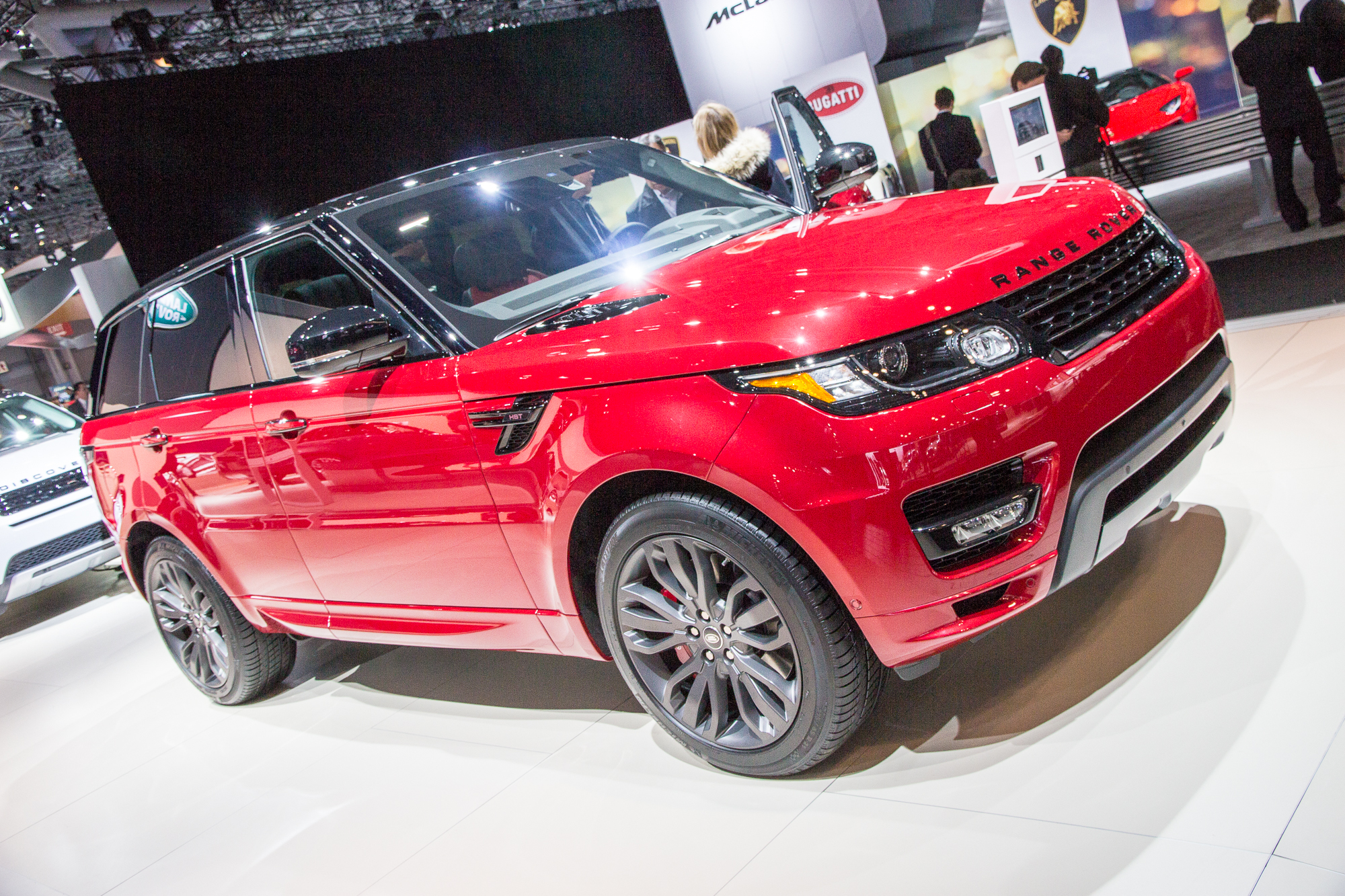 2016 Range Rover Sport HST Limited Edition: 2015 New York Auto Show ...