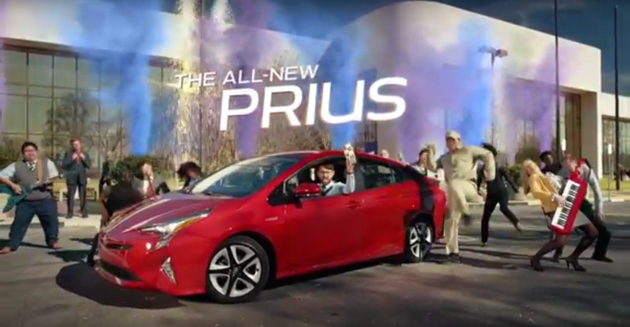2016 Toyota Prius Hybrid Is 'Heck On Wheels' In Super Bowl ...