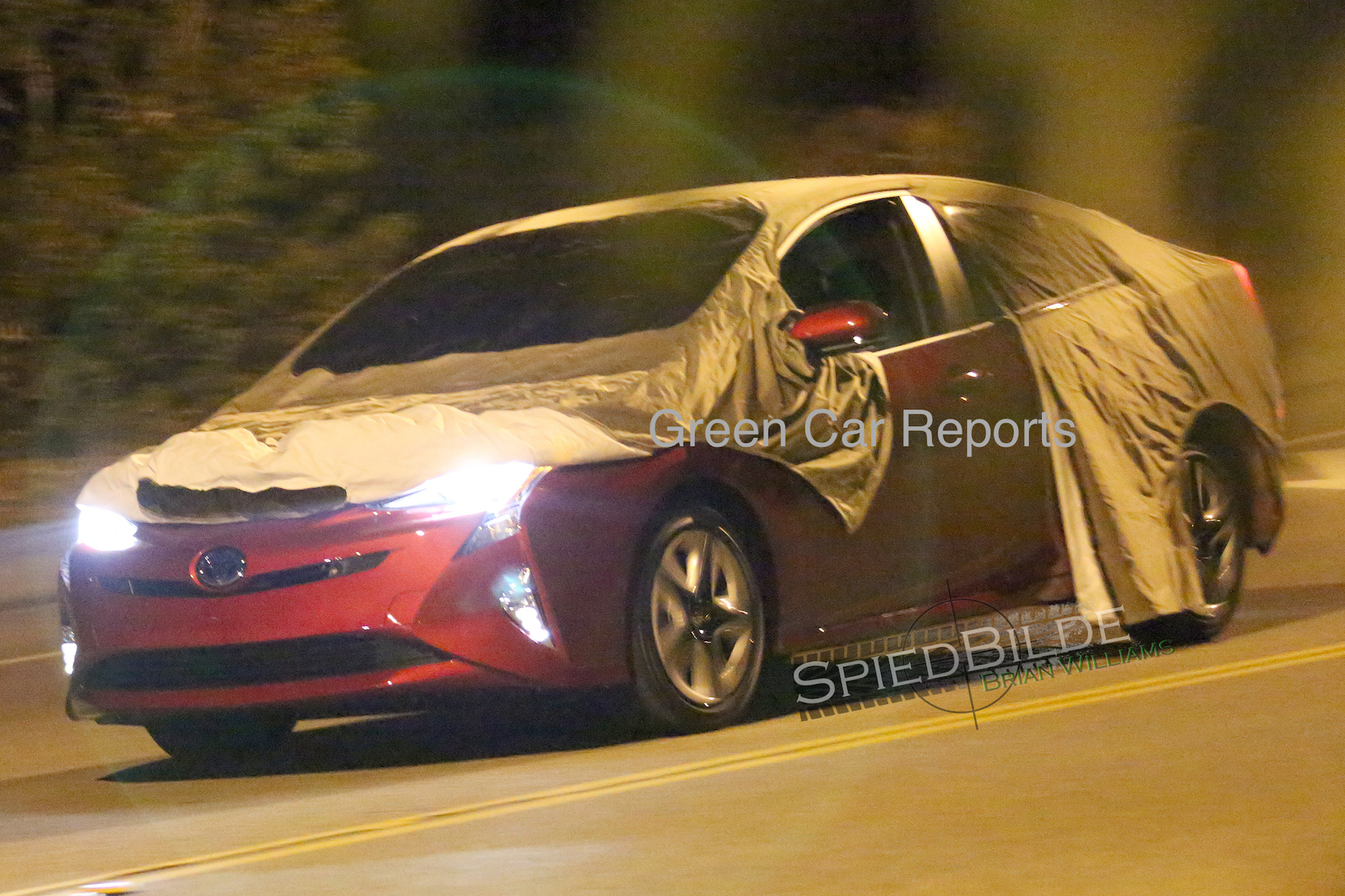 Spy Shots Toyota Prius First Drive