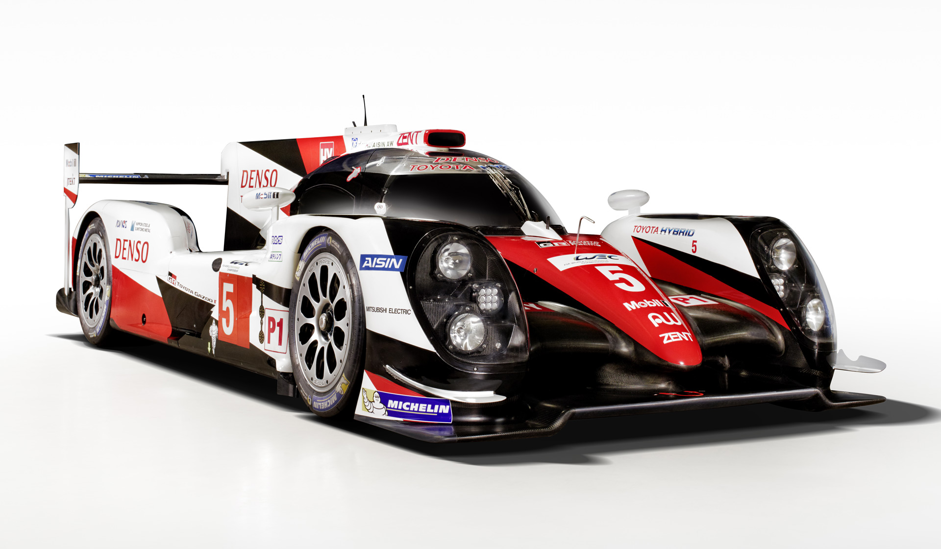 toyota ts050 hybrid for 2016 wec revealed with twin turbo v 6 986 hp video. Black Bedroom Furniture Sets. Home Design Ideas