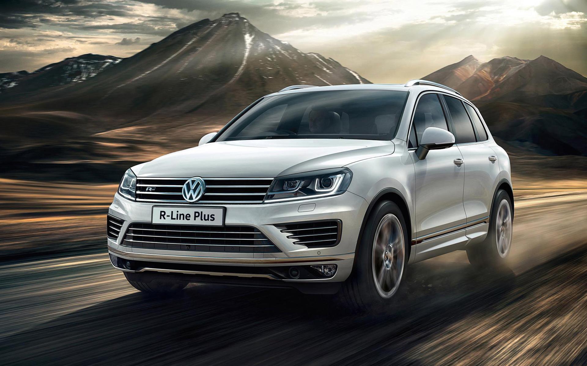 Volkswagen unveils premium R-Line Plus package for Touareg