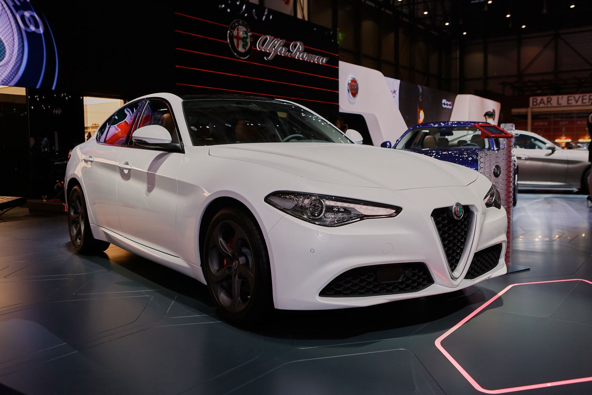 2017 Alfa Romeo Giulia S Regular Trim Levels Revealed In Geneva Live Photos