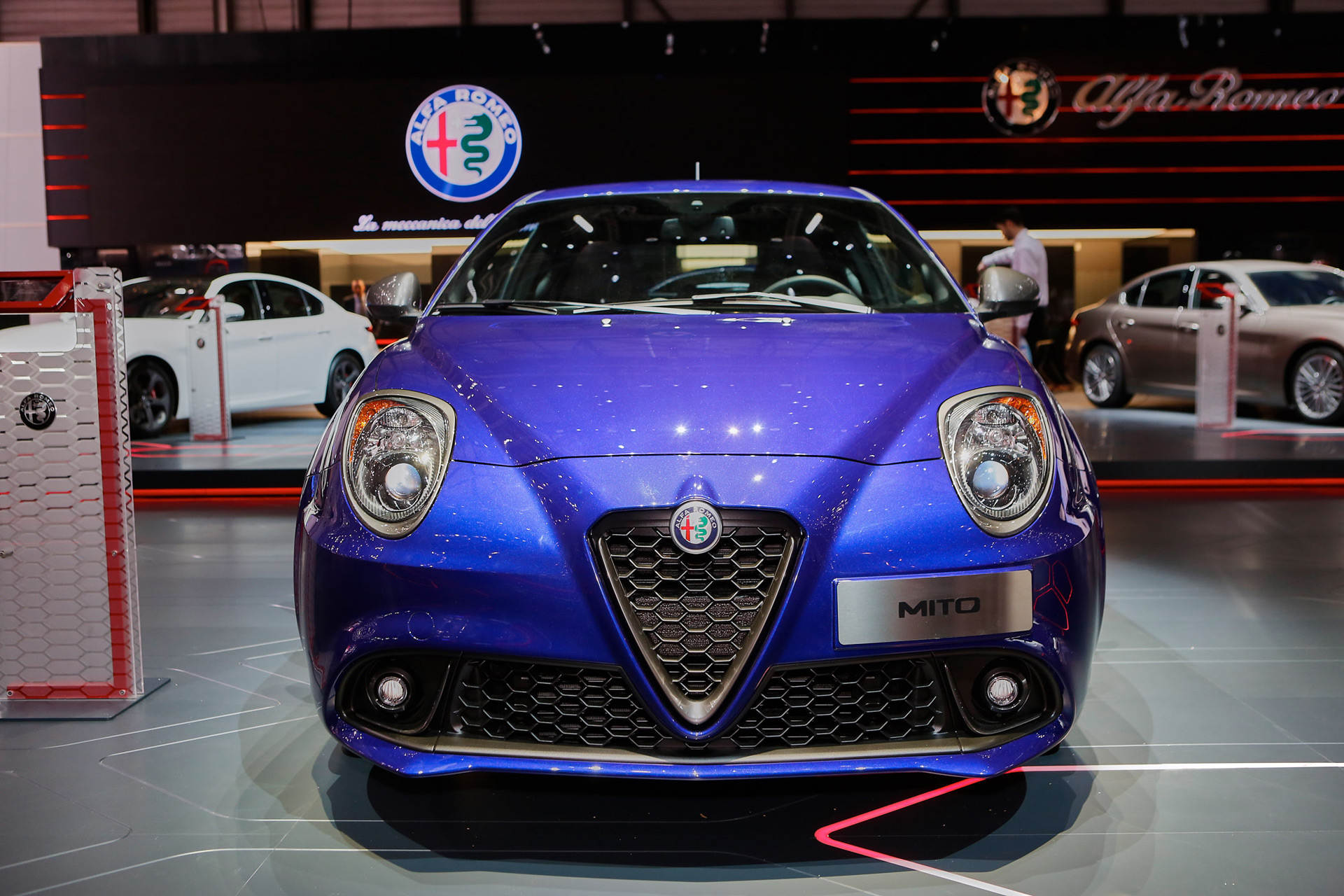 2017 alfa romeo mito debuts with minor updates. Black Bedroom Furniture Sets. Home Design Ideas