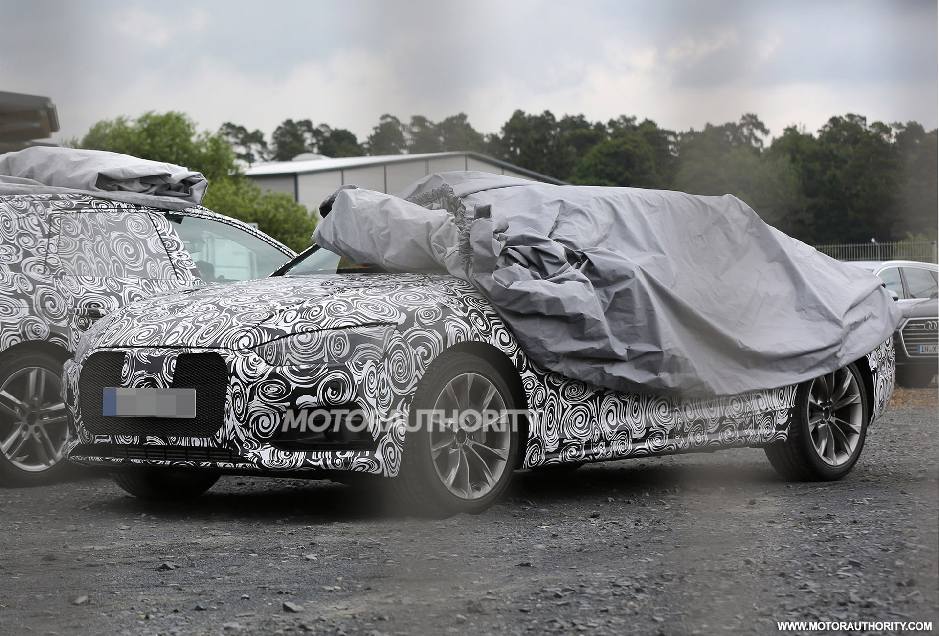 2017 Audi A4 Spy Shots And Video (With Interior)