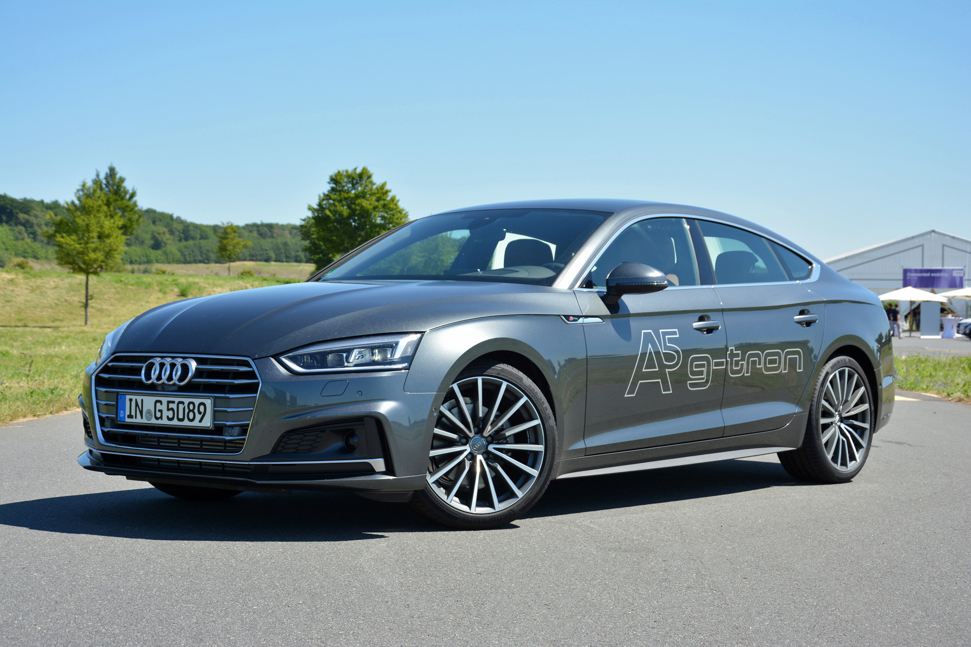 Audi A5 Sportback g-tron: first drive of natural-gas luxury sport sedan
