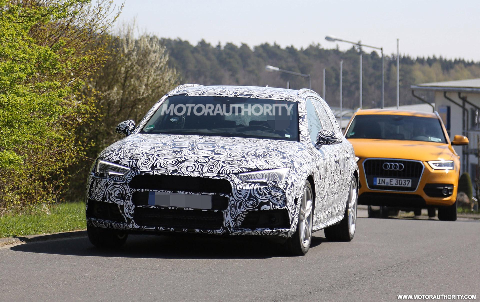 Audi S Avant Spy Shots - Audi s4 avant
