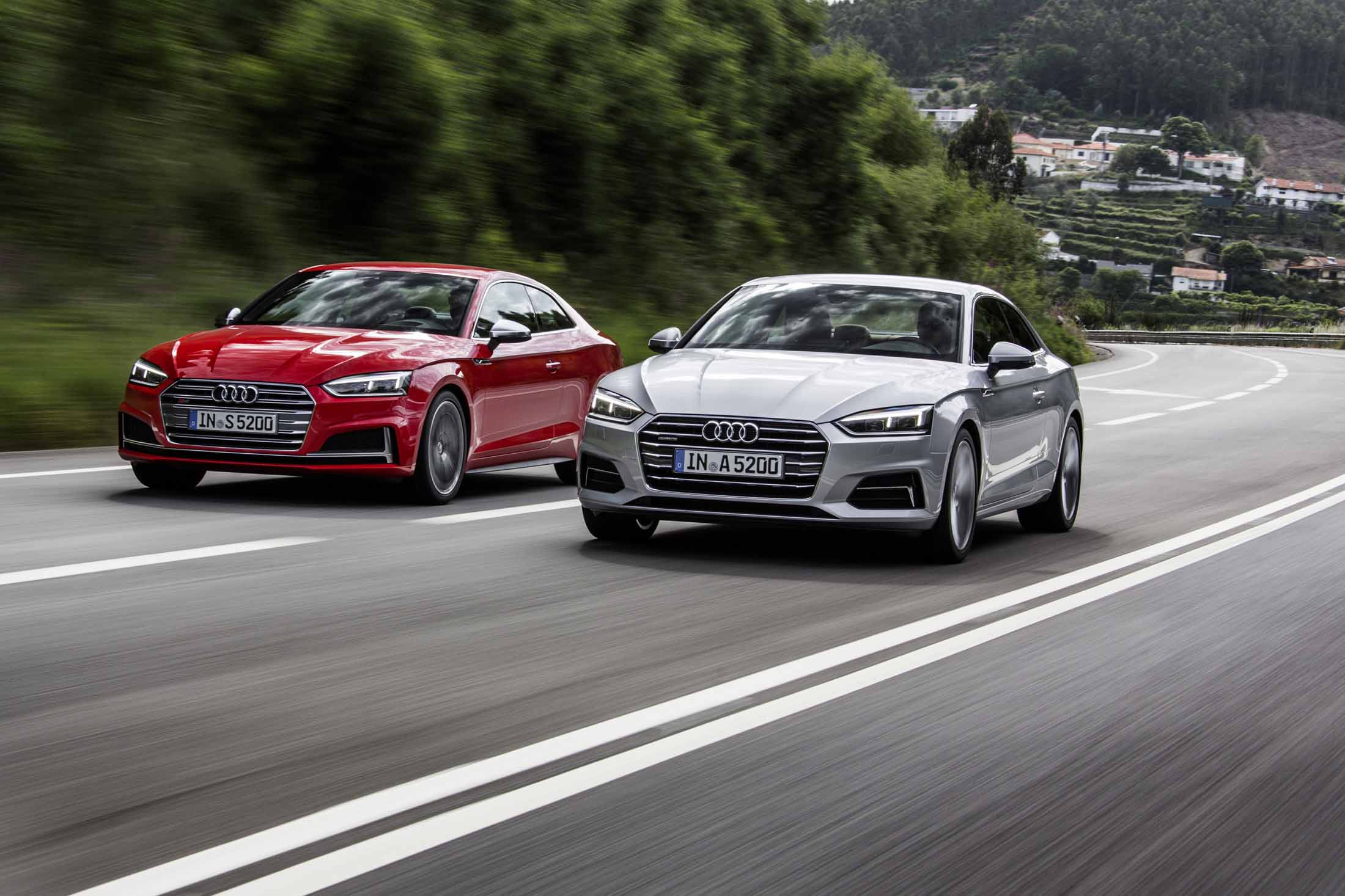 Audi A And S First Drive Review Sibling Rivalry Renewed - Audi r5