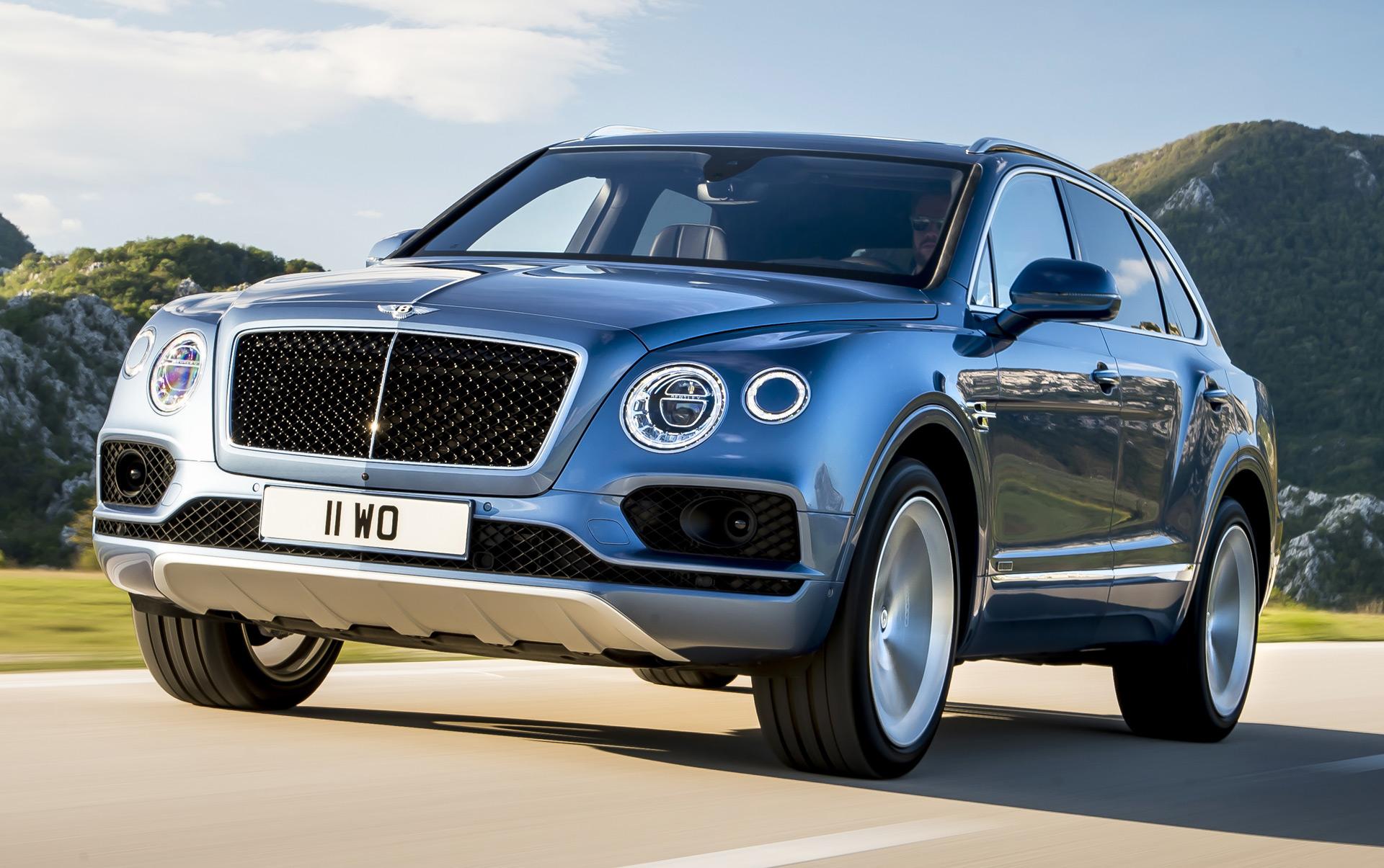 Bentley Bentayga Diesel Debuts With 429 Hp Electric Compressor V 8