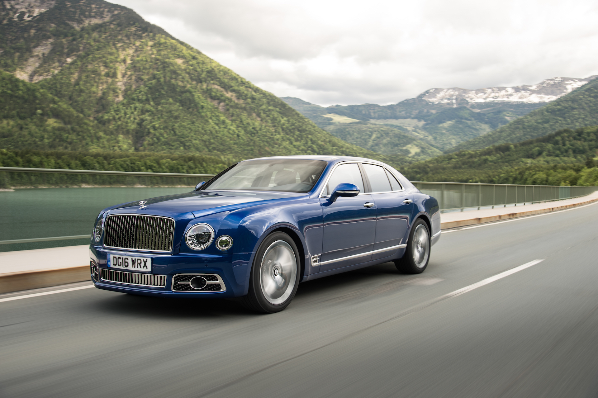 2017 Bentley Mulsanne, Deployable Tire Spikes, Viper To