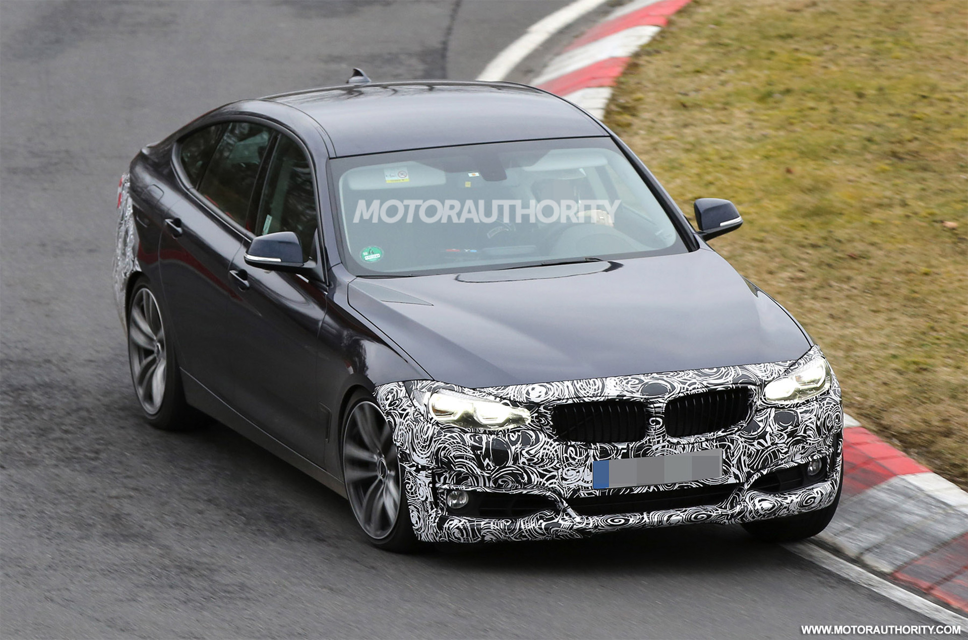 2017 Bmw 3 Series Gt Spy Shots