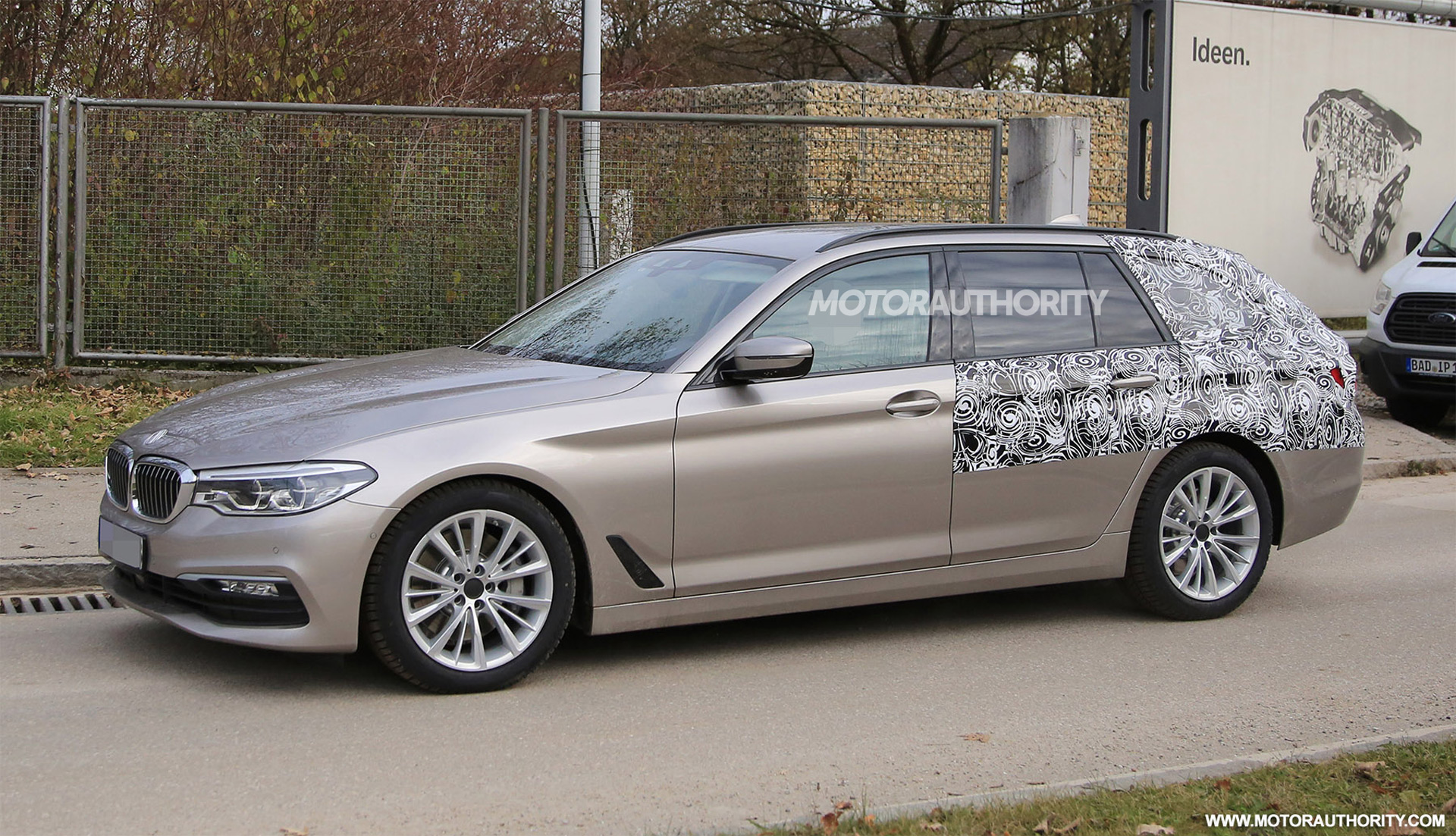 2017 Bmw 5 Series Sports Wagon Touring Spy Shots