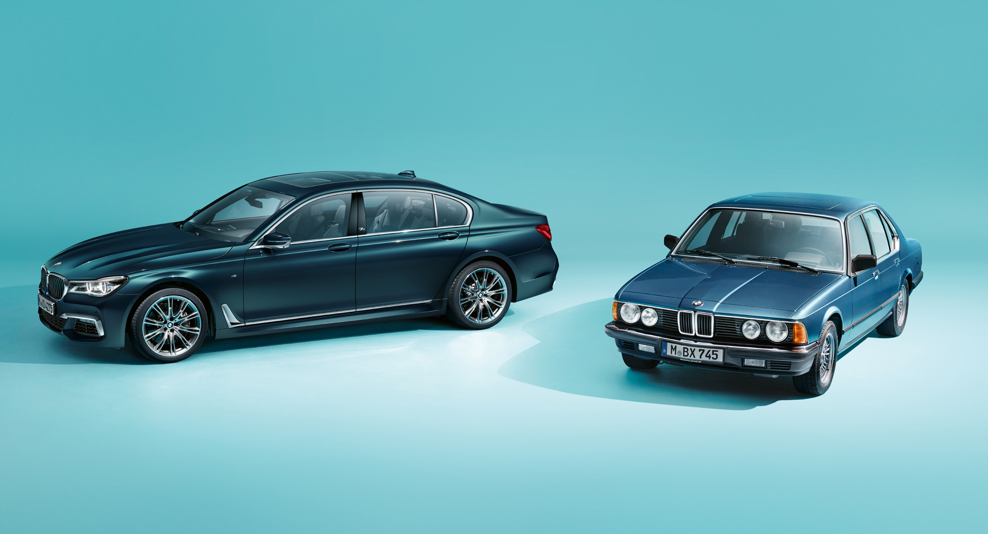 BMW celebrates 40 years of the 7-Series with special edition
