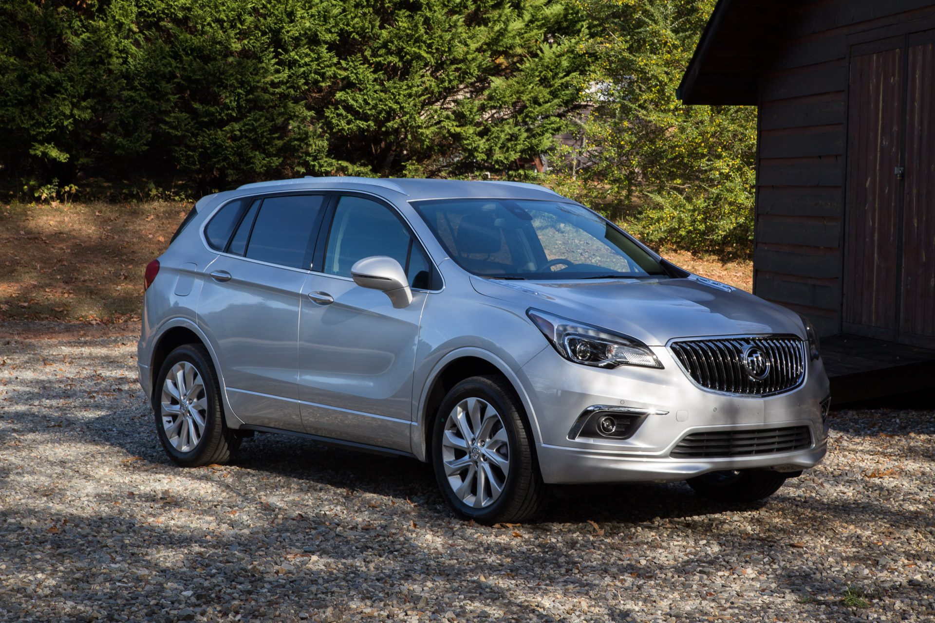 2017 buick envision first drive a thoroughly multilingual crossover. Black Bedroom Furniture Sets. Home Design Ideas