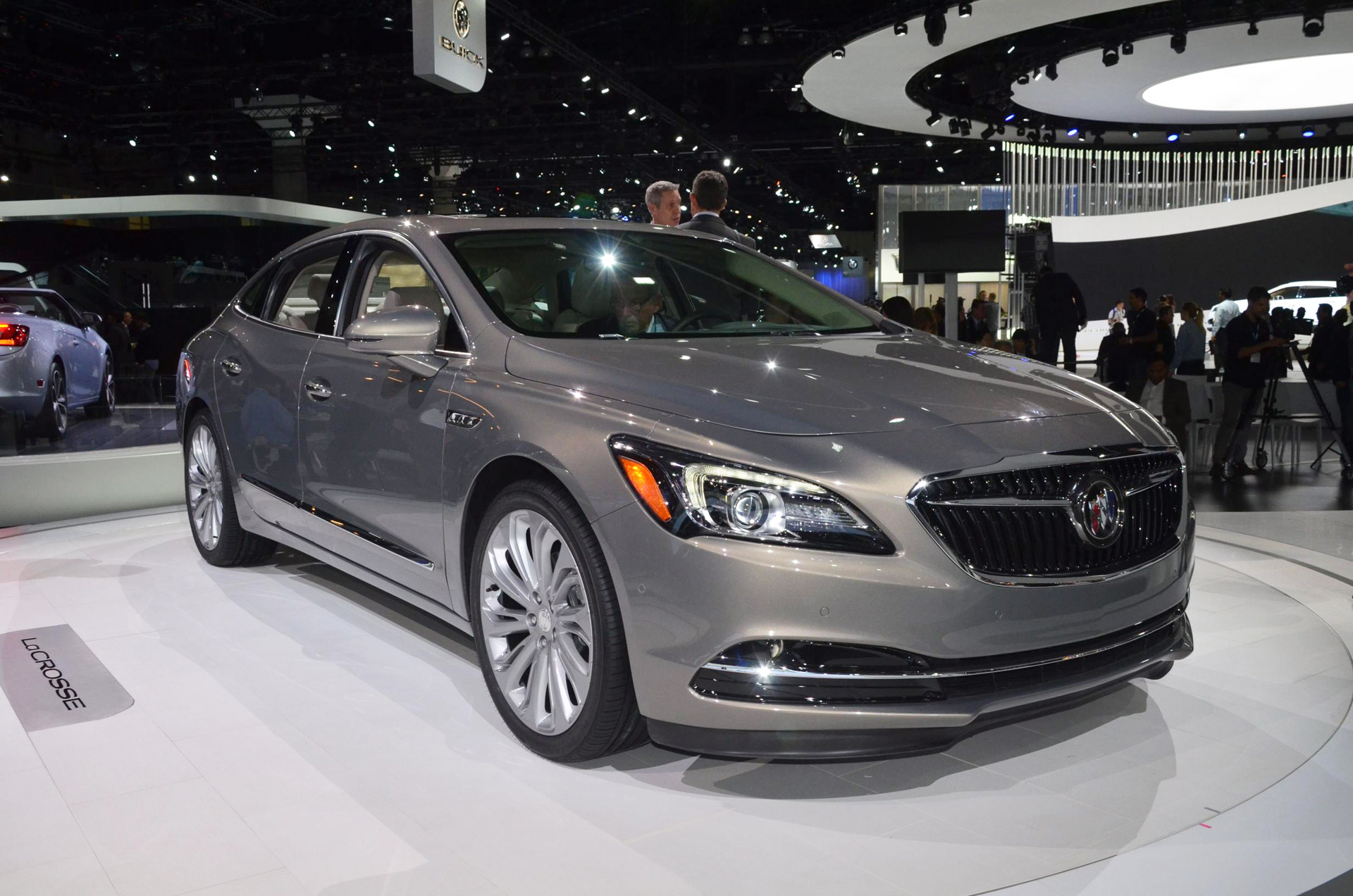 2017 Buick Lacrosse Gets Avenir Inspired Styling Lightweight Construction