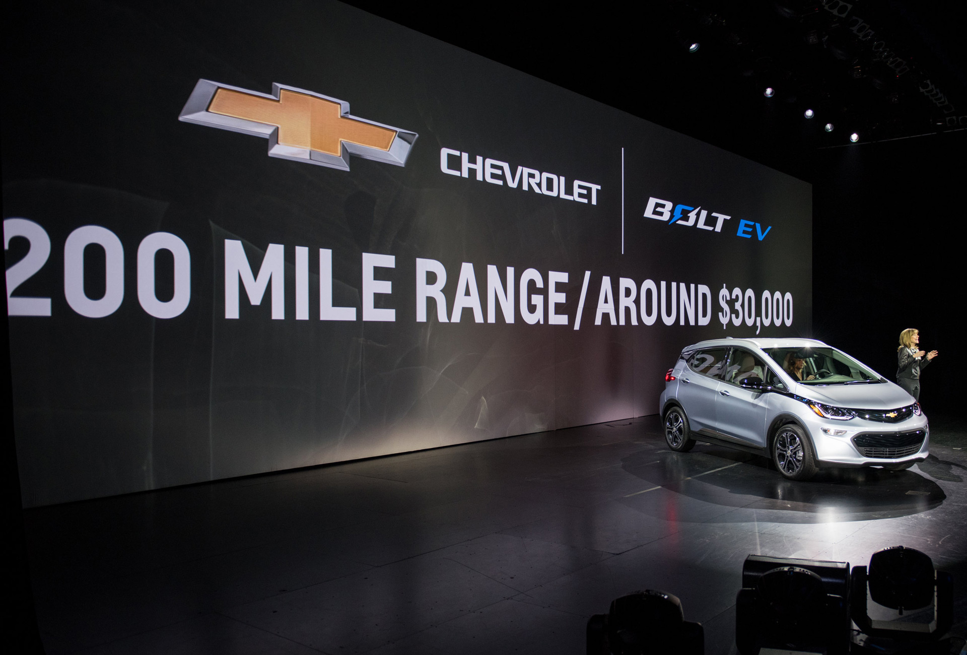 2017 Chevy Bolt Ev Electric Car 238 Mile Epa Range Rating 119 Mpge Combined