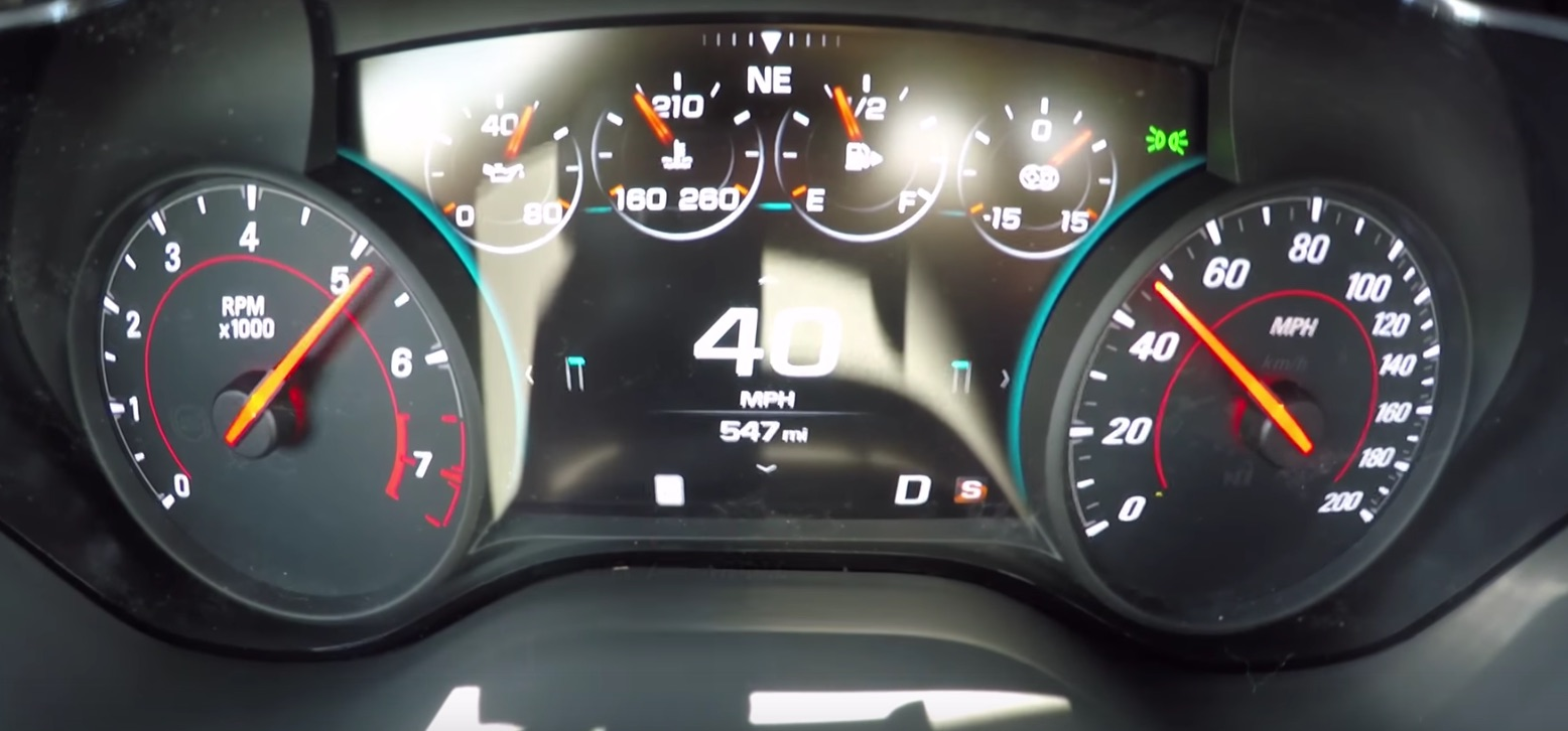 Chevy 0 60 >> Watch A Stock 2017 Chevy Camaro Zl1 Run 0 60 In 3 6 Seconds Then