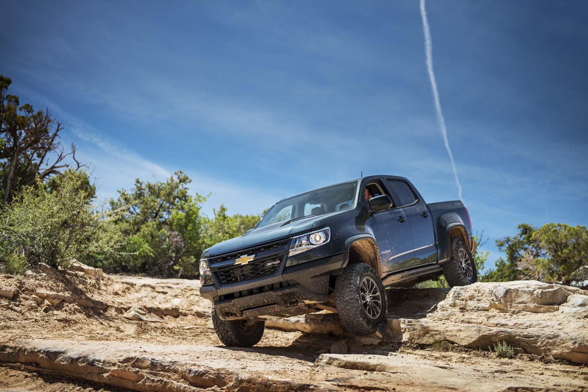 2017 Chevrolet Colorado Towing Capacity >> 2017 Chevrolet Colorado Chevy Review Ratings Specs