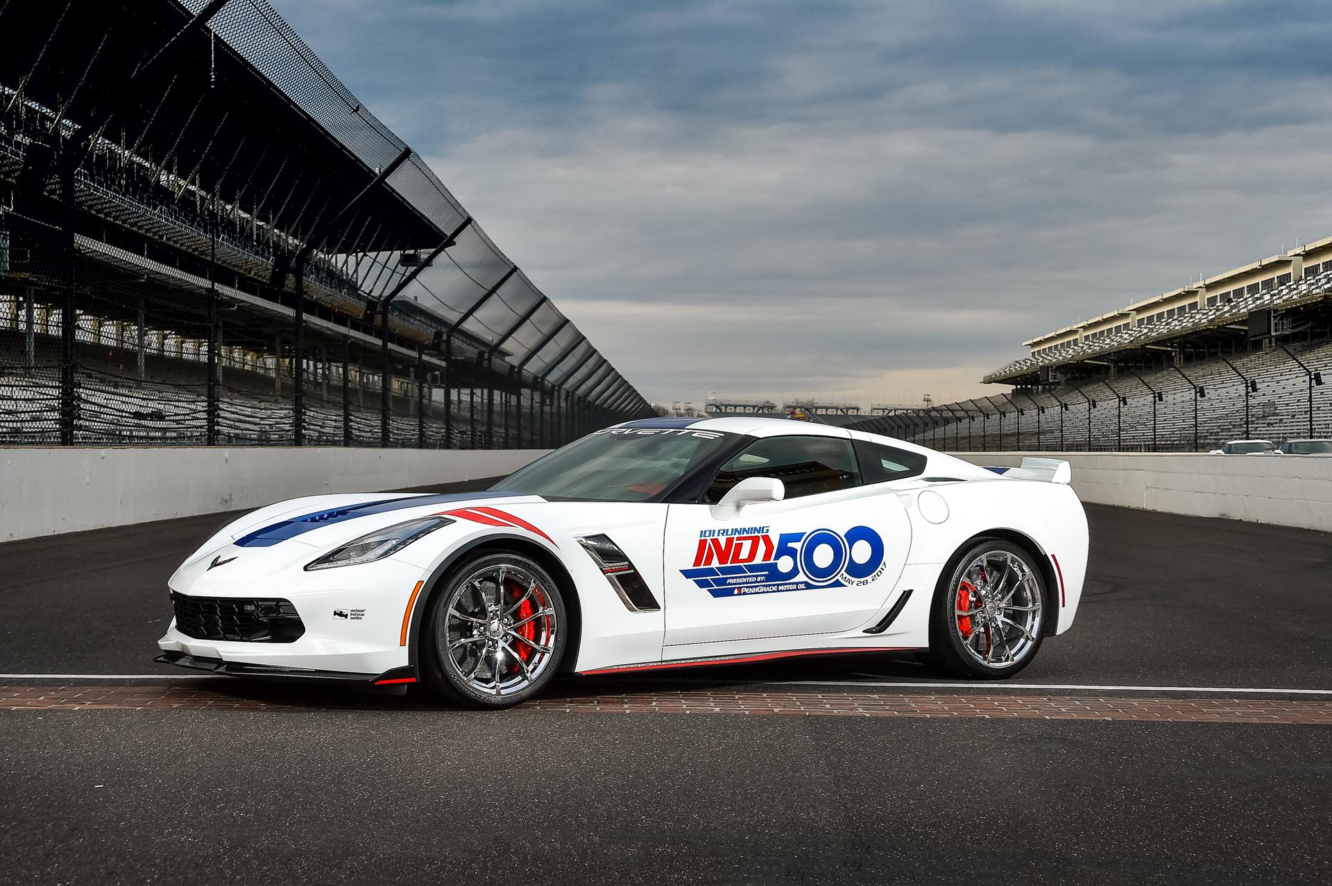 2017 Chevrolet Corvette Grand Sport will pace Indy 500 field