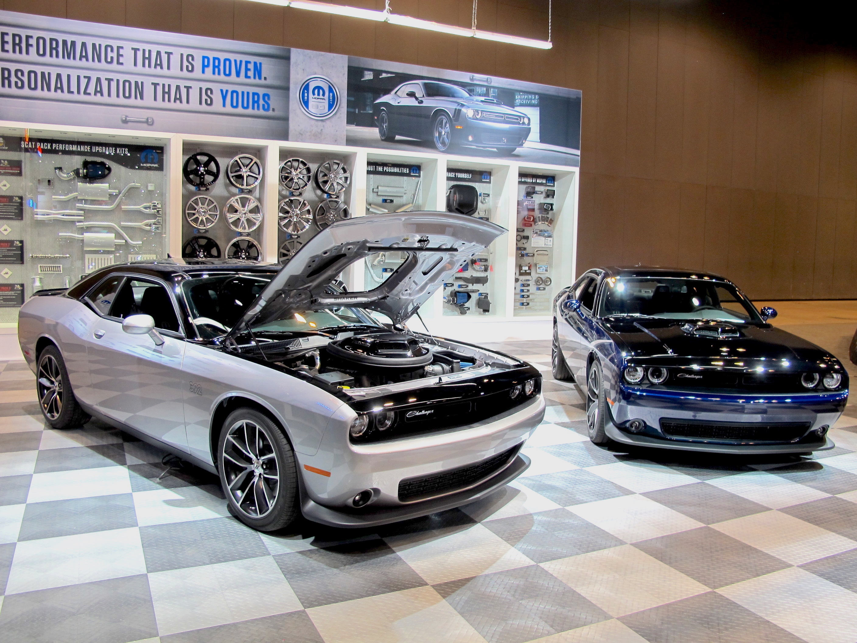 Mopar 17 Dodge Challenger celebrates 80 years of Mopar in two tone