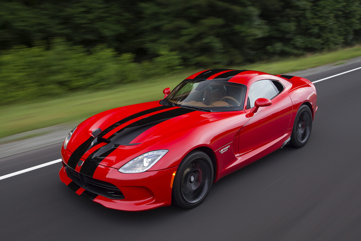 Minivans For Sale >> 2017 Dodge Viper SRT Review, Ratings, Specs, Prices, and Photos - The Car Connection