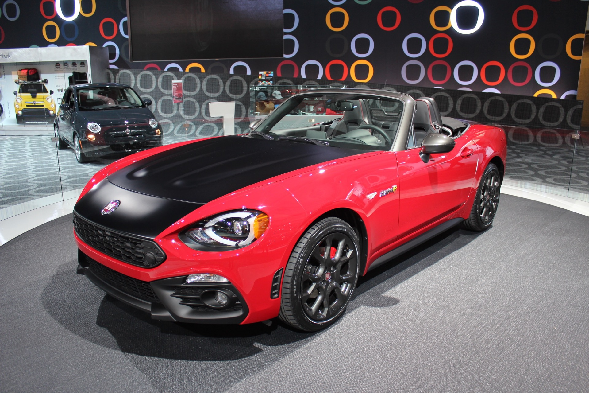 2017 fiat 124 spider elaborazione abarth debuts in new york live photos. Black Bedroom Furniture Sets. Home Design Ideas