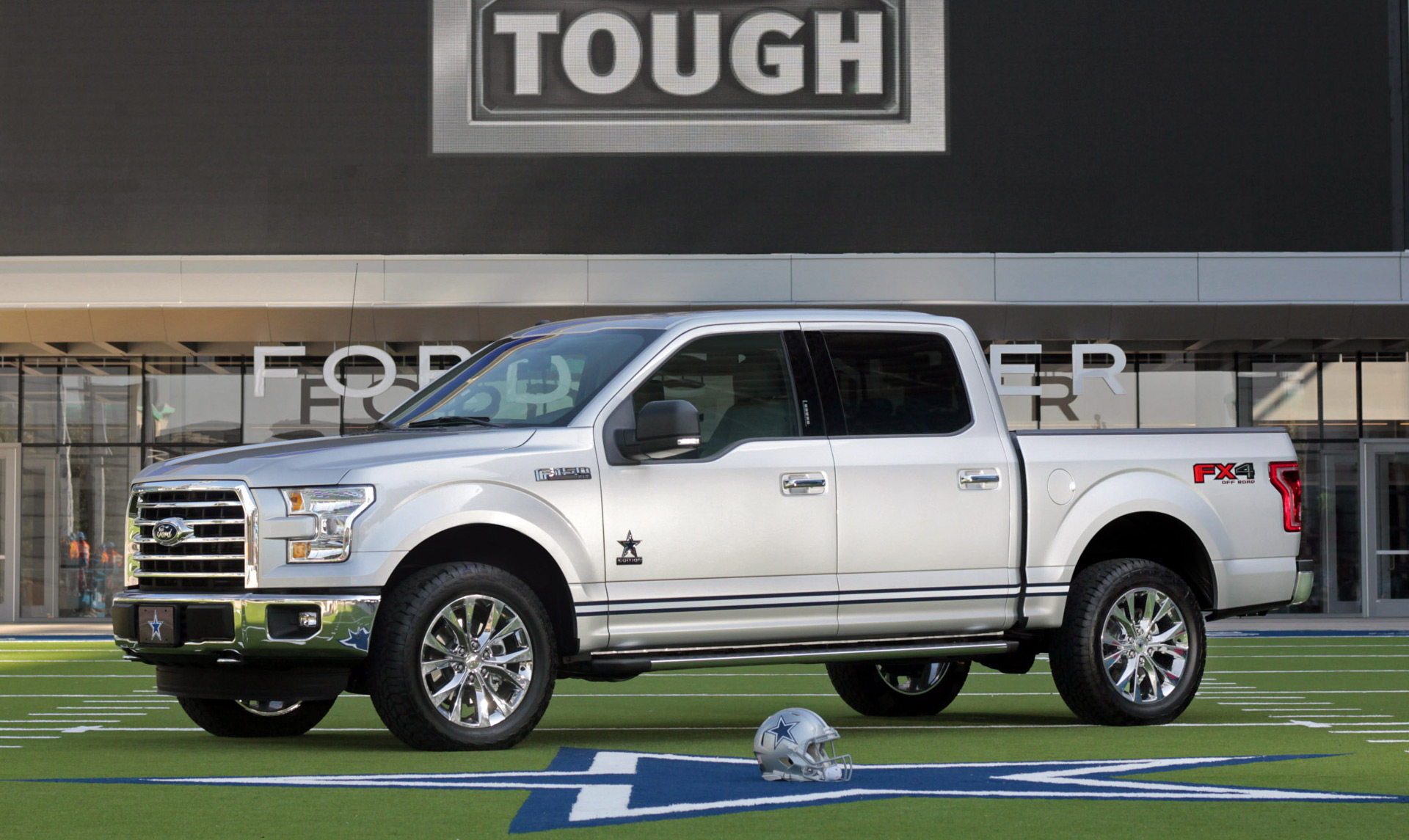 Ford rolls out F-150 Dallas Cowboys edition