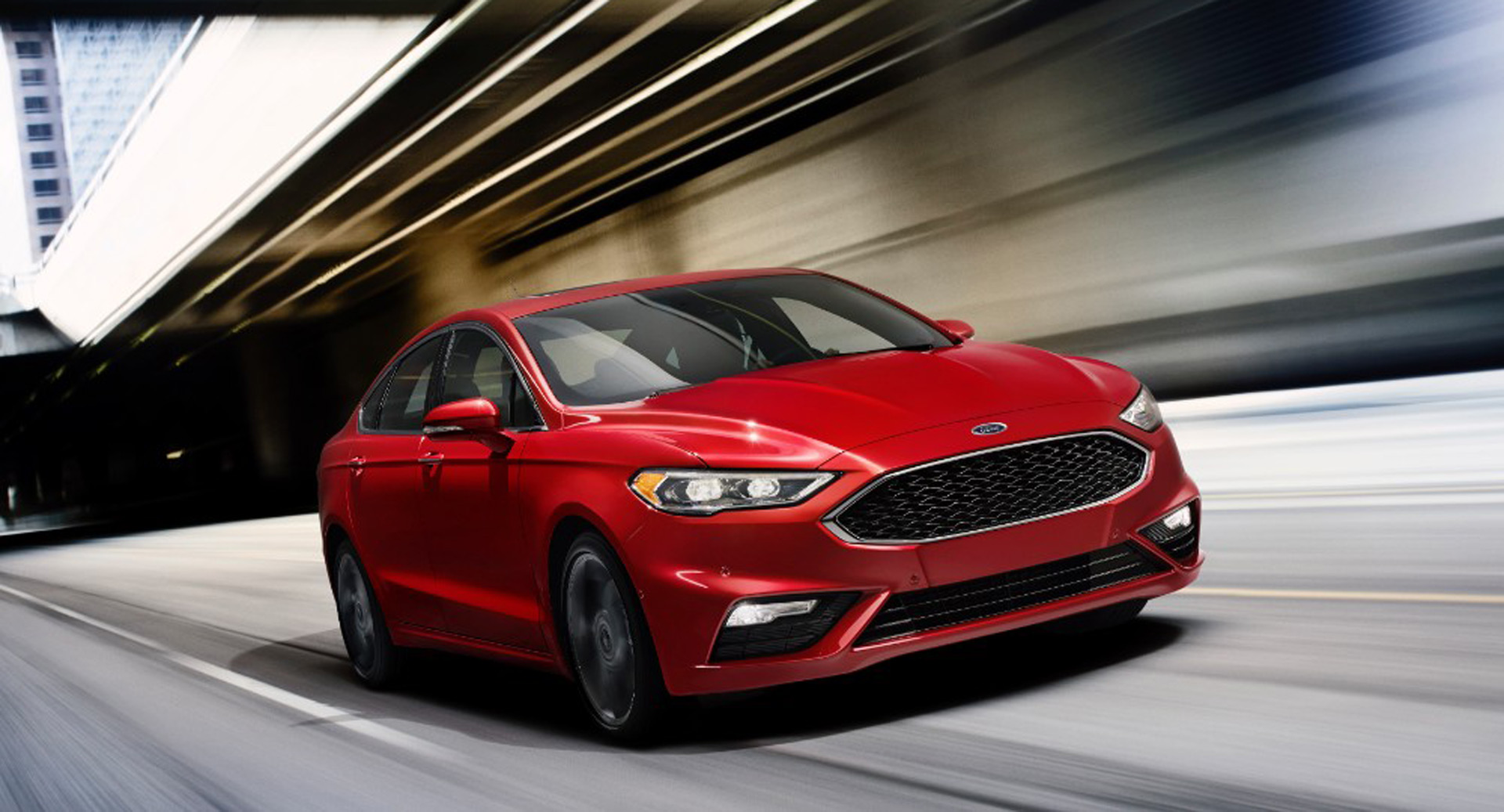 2017 Ford Fusion V6 Sport Revealed With All Wheel Drive Twin Turbo