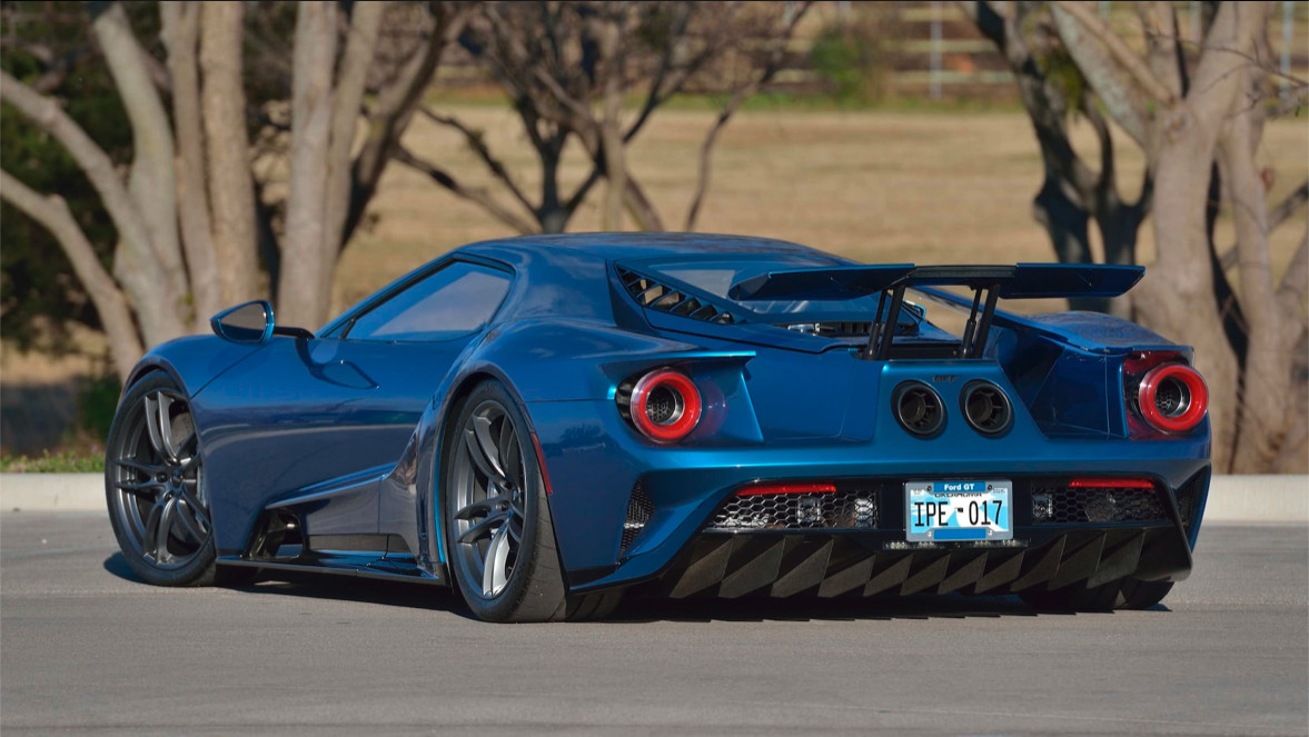 John Cenas Ford Gt For Sale For The Fourth Time