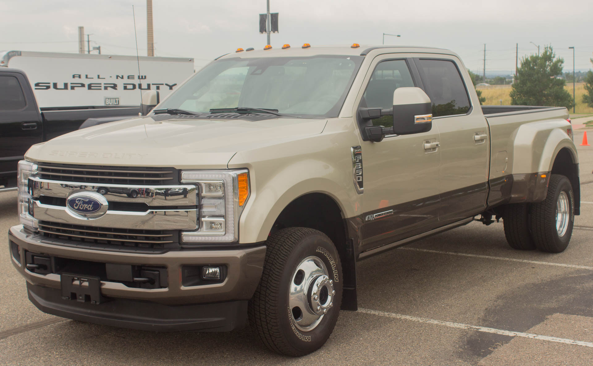 Does it matter that the new 2017 Ford Super Duty is aluminum like