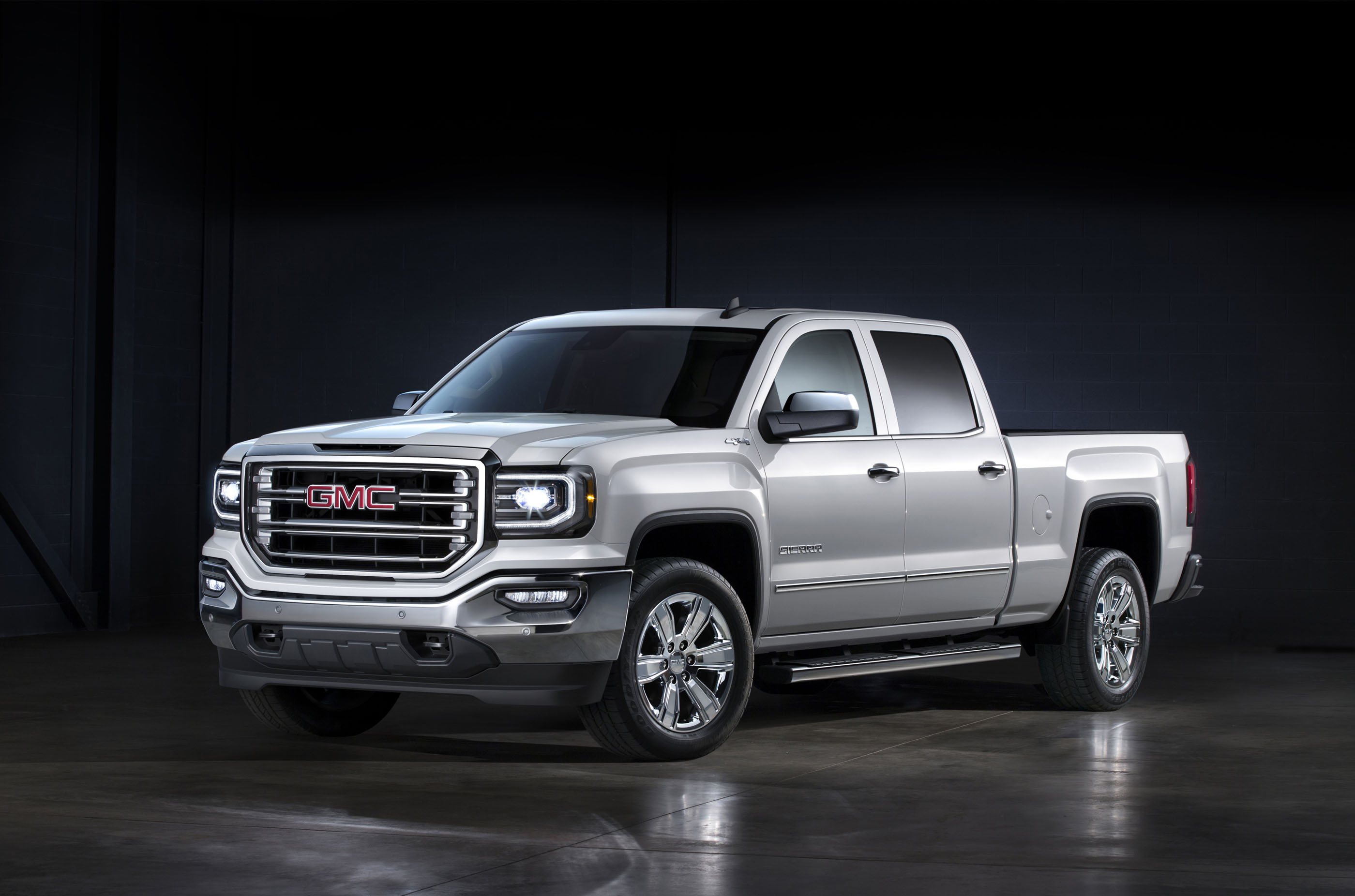 2017 gmc sierra 1500 review ratings specs prices and photos the car connection. Black Bedroom Furniture Sets. Home Design Ideas