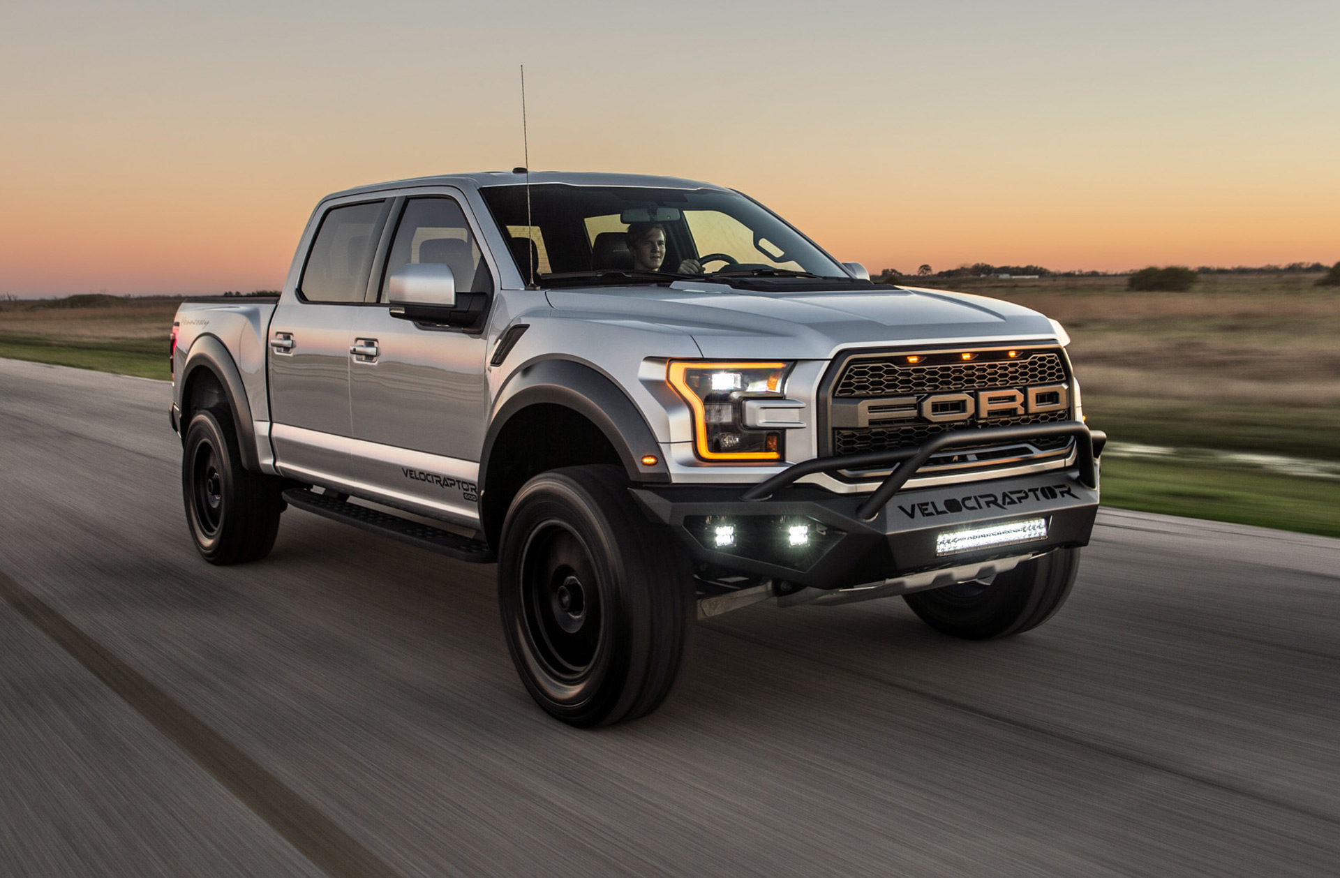 Hennessey gives the ford f 150 raptor 605 hp 4 2 second 0 60 time