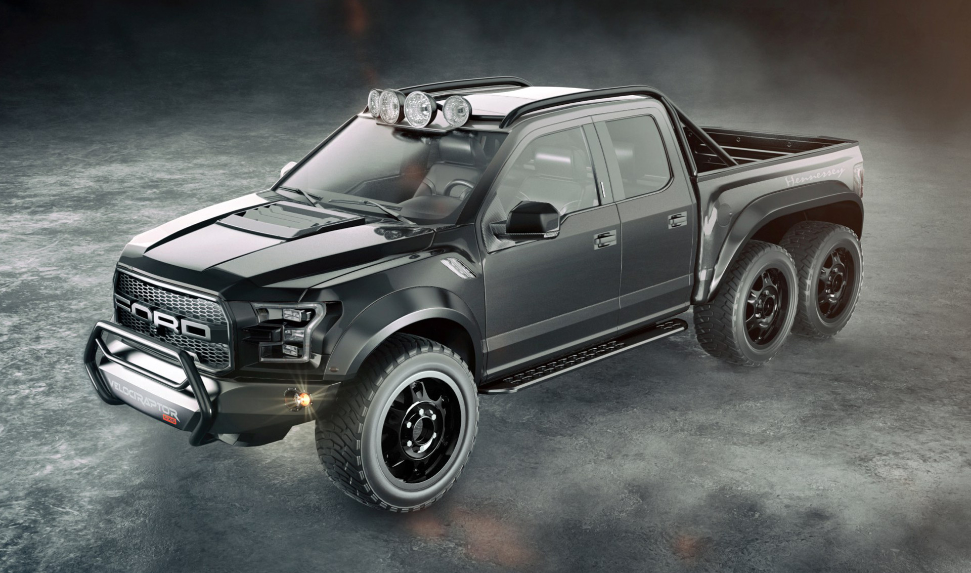 Hennessey promises 600 plus hp f 150 raptor 6x6 for 317k