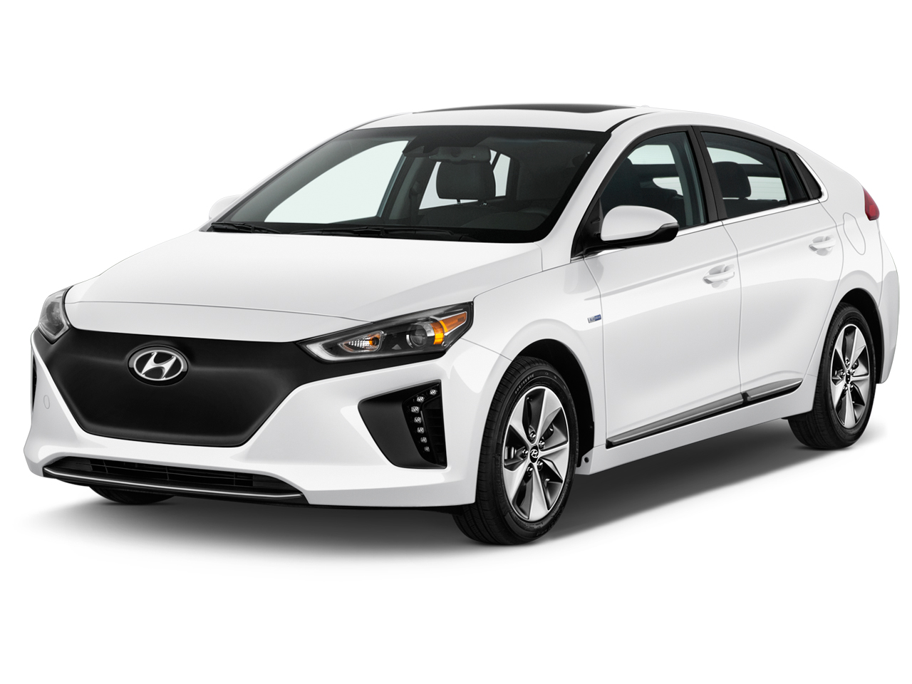 2017 hyundai ioniq electric review ratings specs prices and photos the car connection. Black Bedroom Furniture Sets. Home Design Ideas