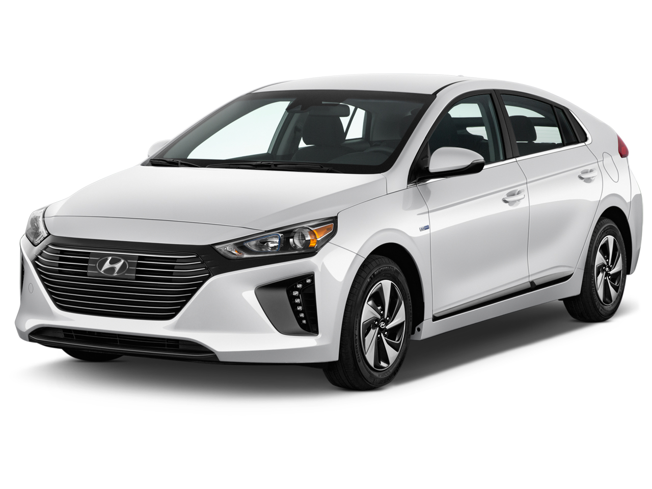 2018 hyundai ioniq hybrid review ratings specs prices and photos the car connection. Black Bedroom Furniture Sets. Home Design Ideas