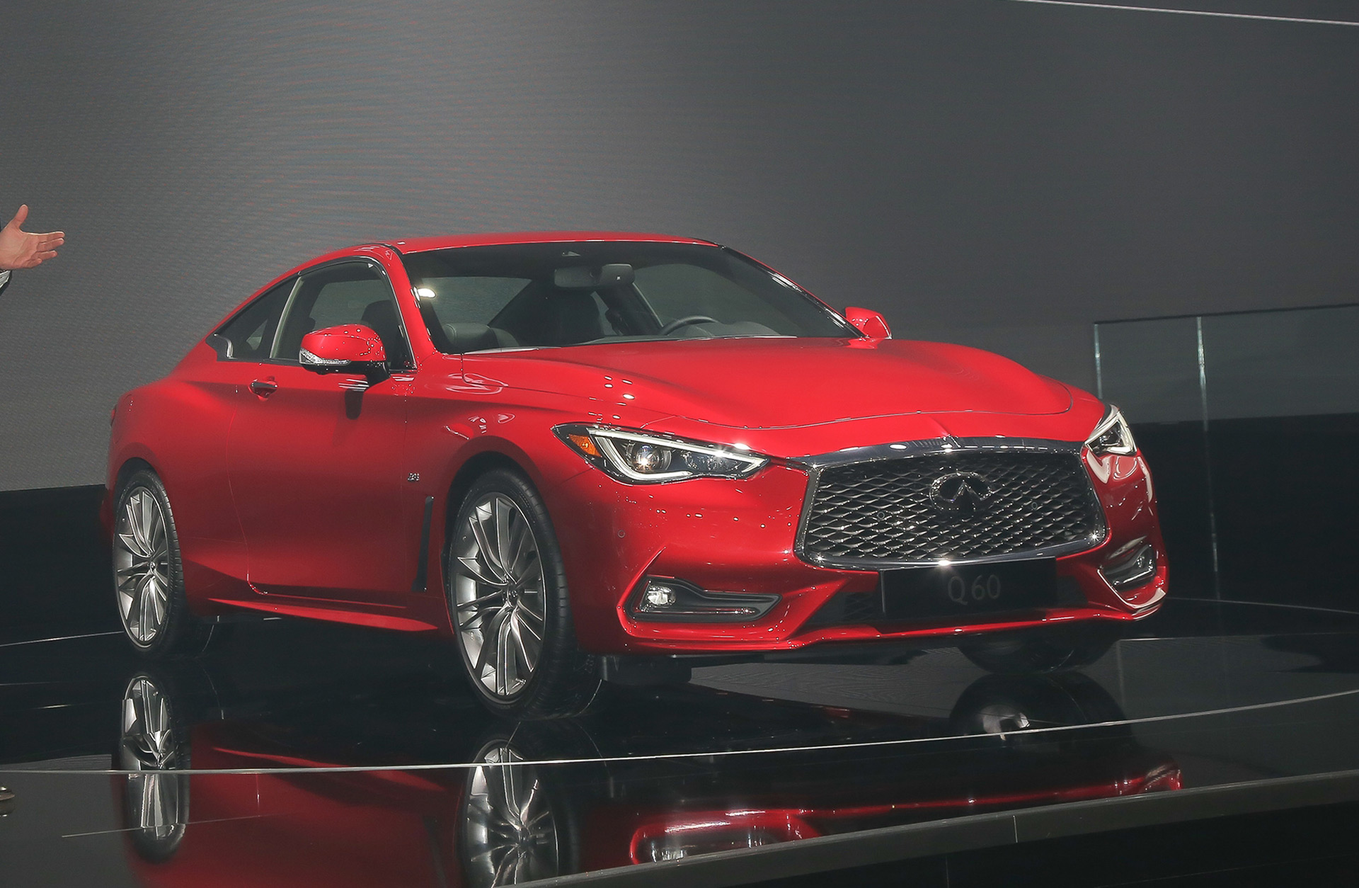 new infiniti q60 coupe will be second model with red sport performance trim. Black Bedroom Furniture Sets. Home Design Ideas