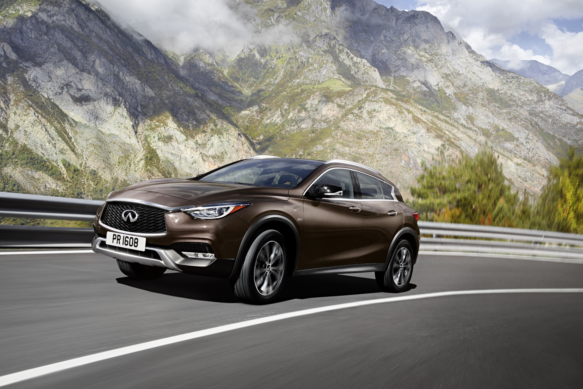 2017 infiniti qx30 review ratings specs prices and photos the car connection. Black Bedroom Furniture Sets. Home Design Ideas