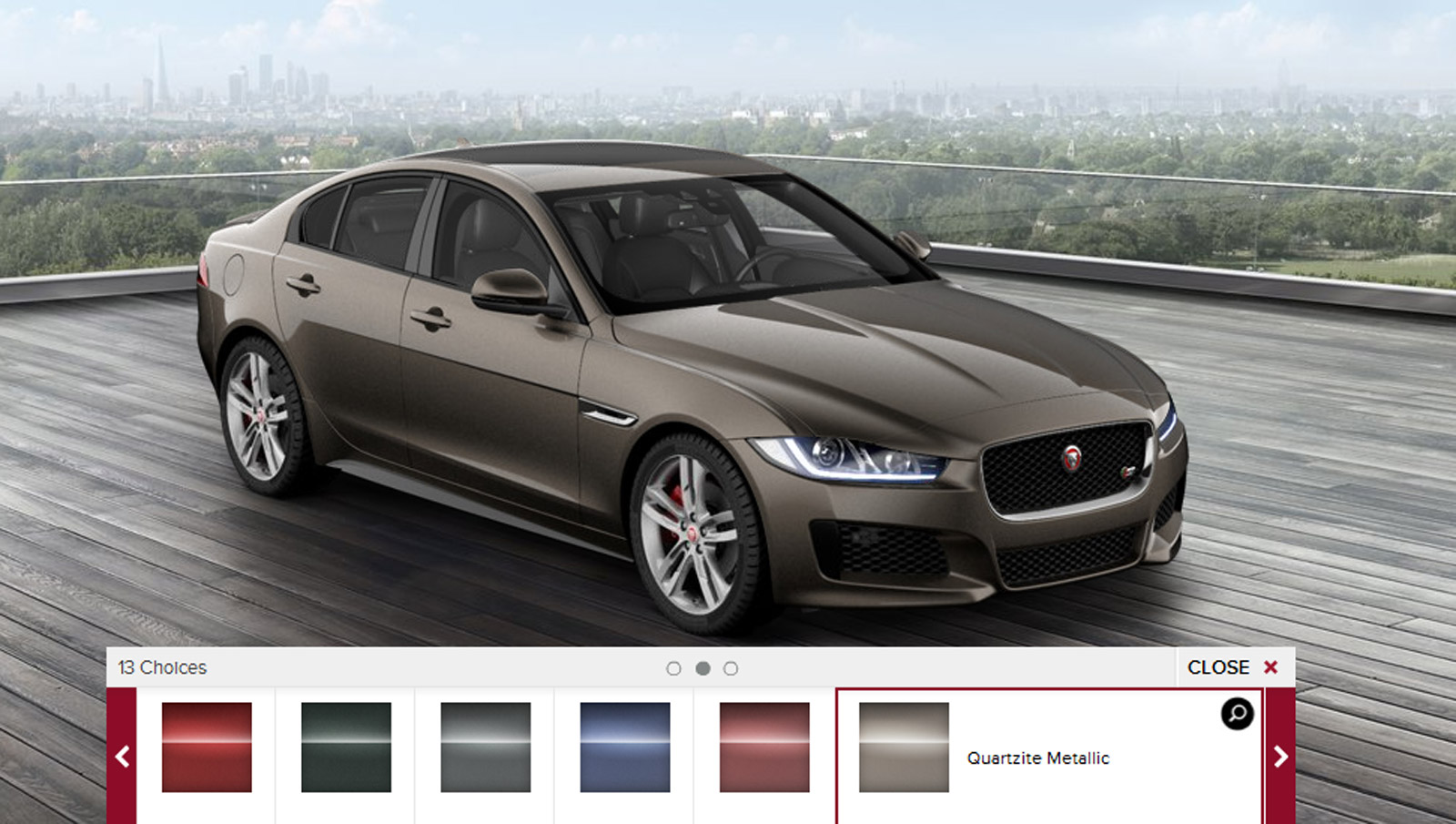 2017 jaguar xe configurator launched. Black Bedroom Furniture Sets. Home Design Ideas