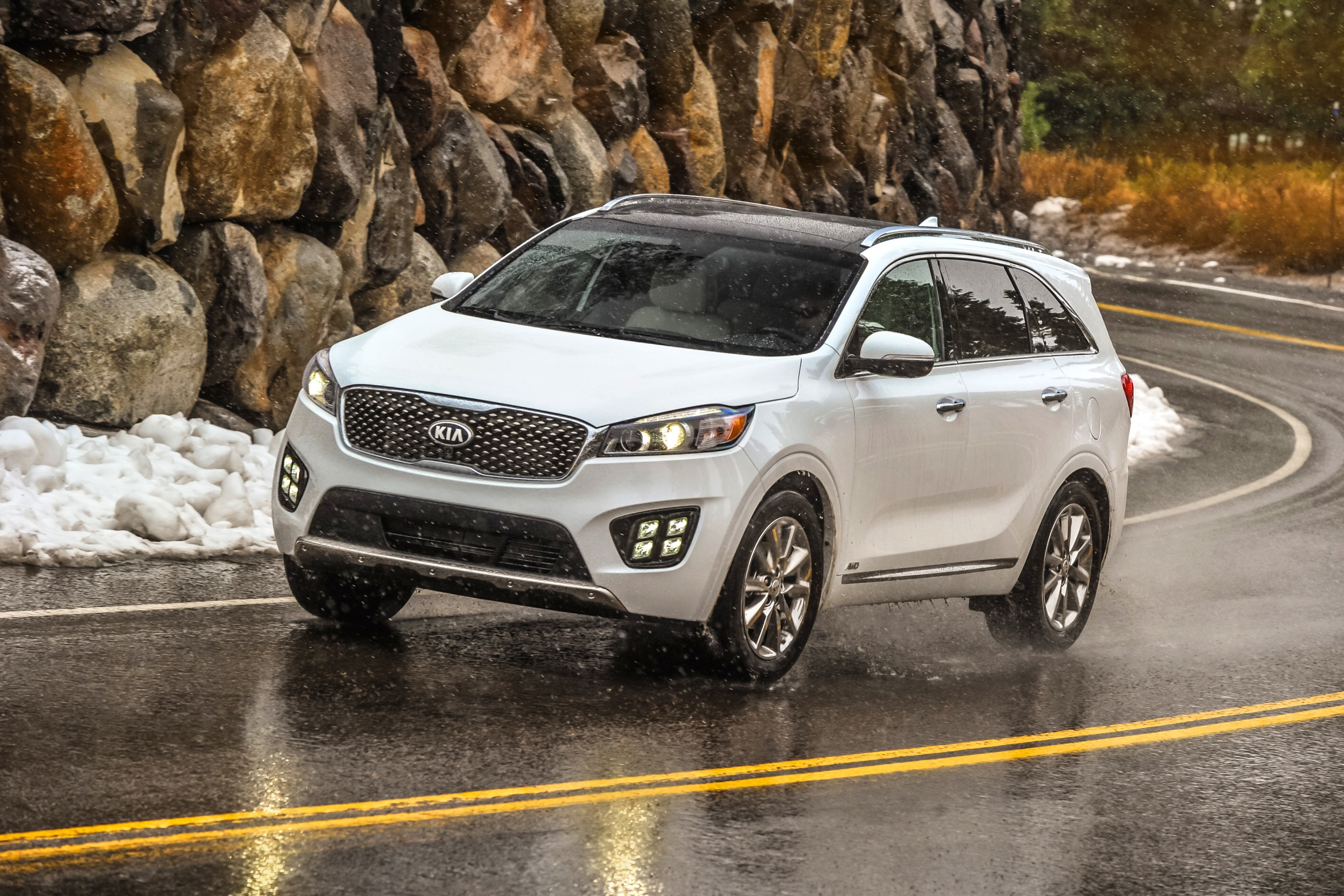 2017 Kia Sorento Vs 2017 Ford Edge Compare Cars
